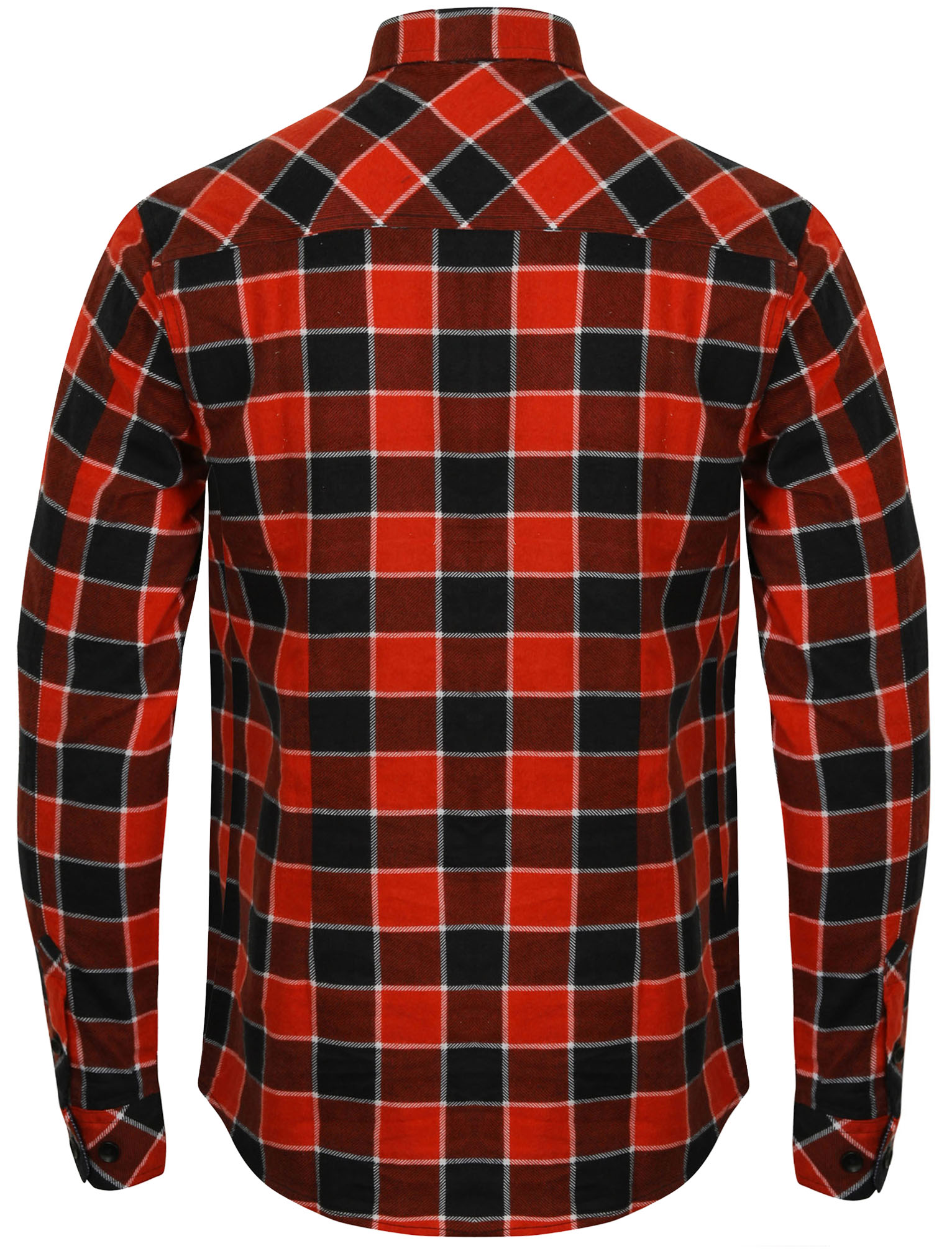 New-Mens-Tokyo-Laundry-Cotton-Long-Sleeve-Checked-Flannel-Shirt-Size-S-XL thumbnail 11