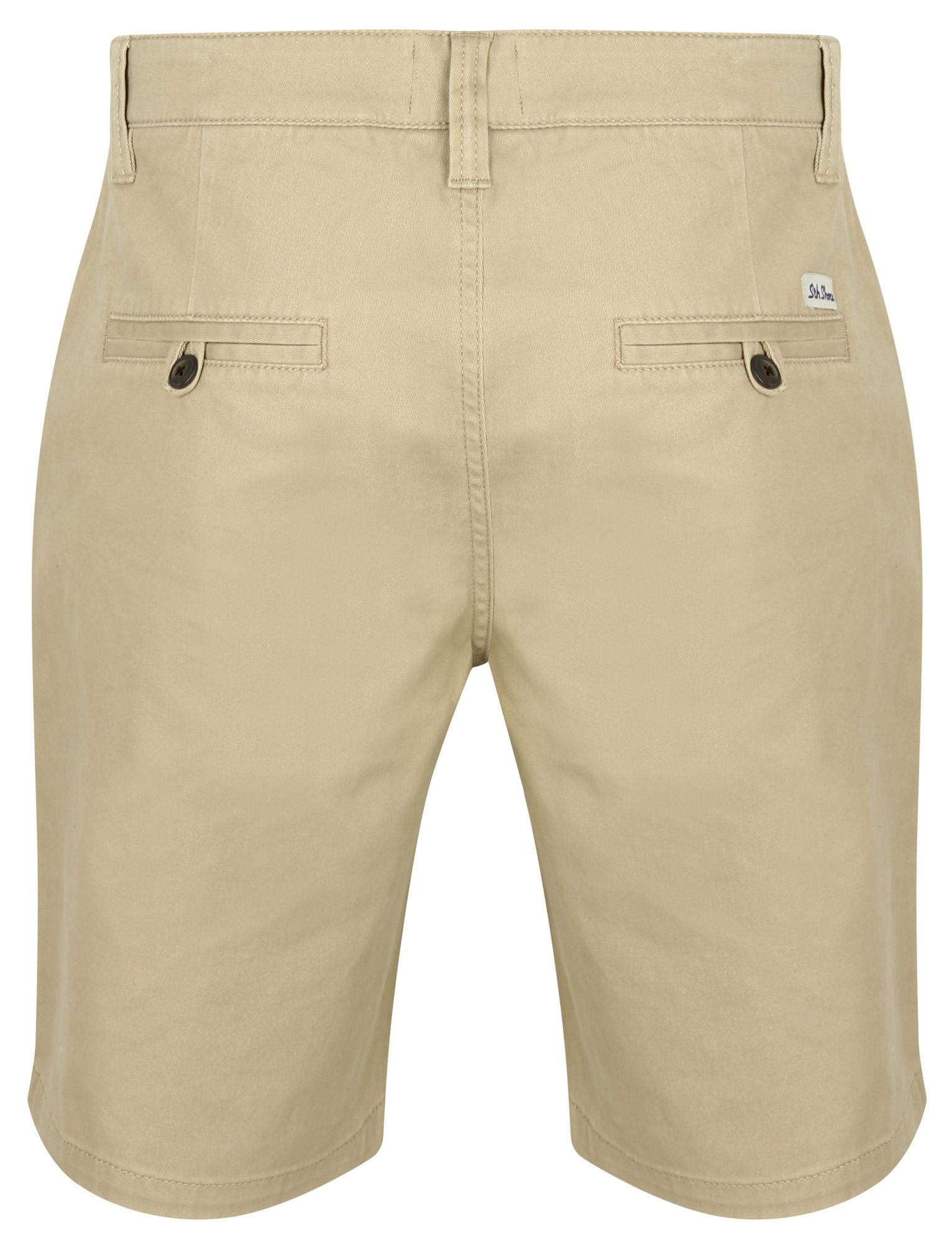 South-Shore-uomo-Scotch-Tinta-Unita-Cotone-Twill-Casual-Jeans-Corti-Chino-Taglia-S-XXL miniatura 9