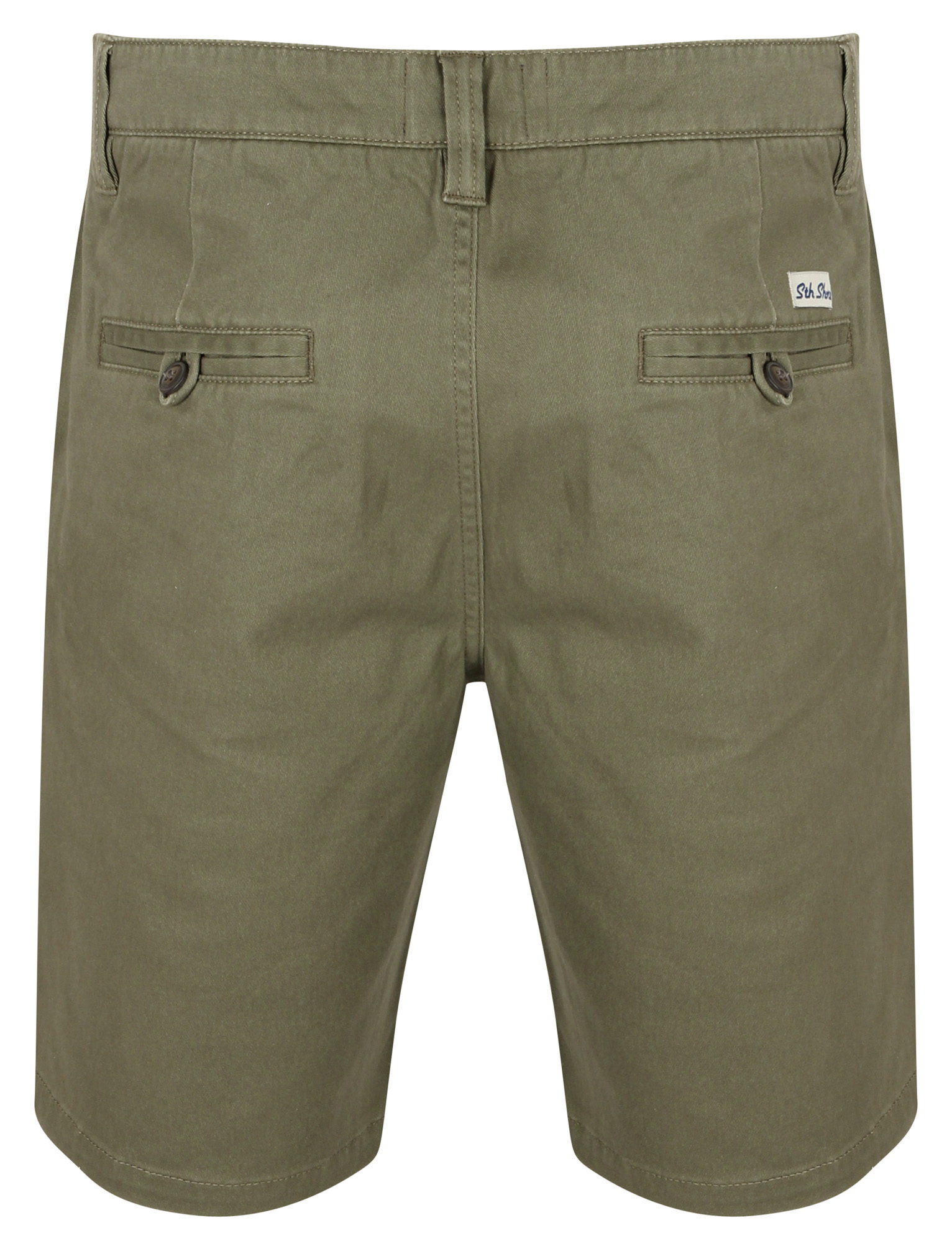 South-Shore-uomo-Scotch-Tinta-Unita-Cotone-Twill-Casual-Jeans-Corti-Chino-Taglia-S-XXL miniatura 15
