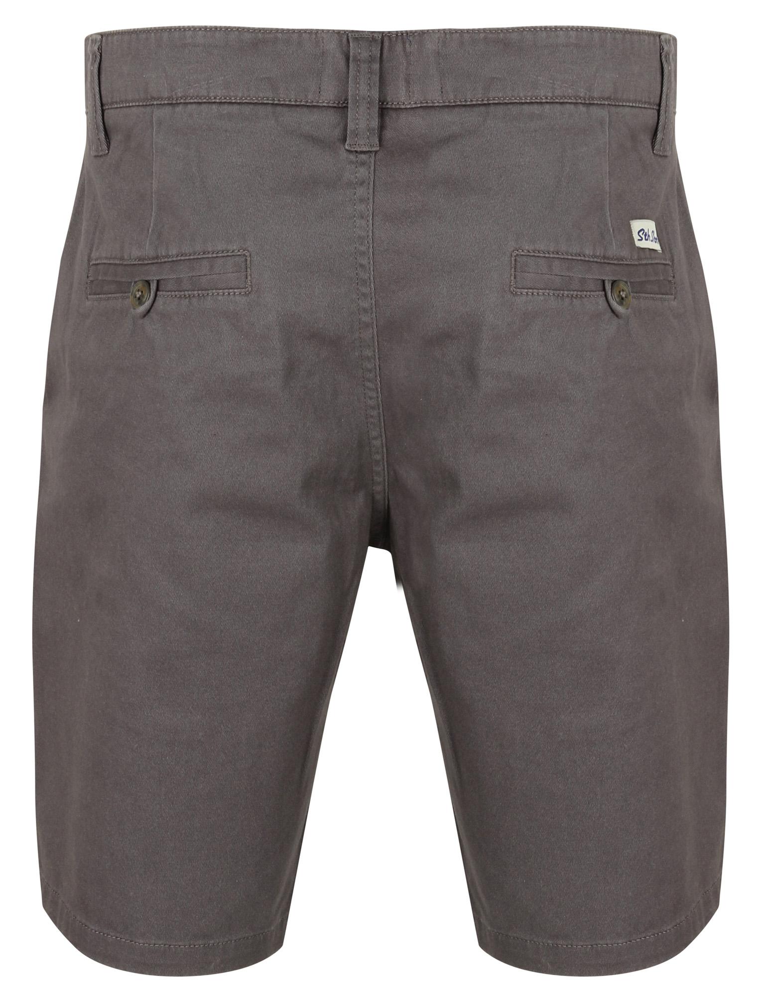 South-Shore-uomo-Scotch-Tinta-Unita-Cotone-Twill-Casual-Jeans-Corti-Chino-Taglia-S-XXL miniatura 3