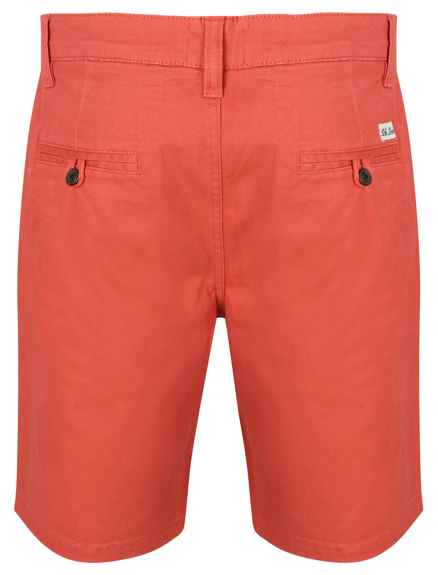 South-Shore-uomo-Scotch-Tinta-Unita-Cotone-Twill-Casual-Jeans-Corti-Chino-Taglia-S-XXL miniatura 11