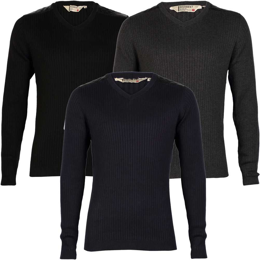 Men Sweaters PU Leather Cotton Patchwork Pullover Male Tops Long Sleeve Jumper