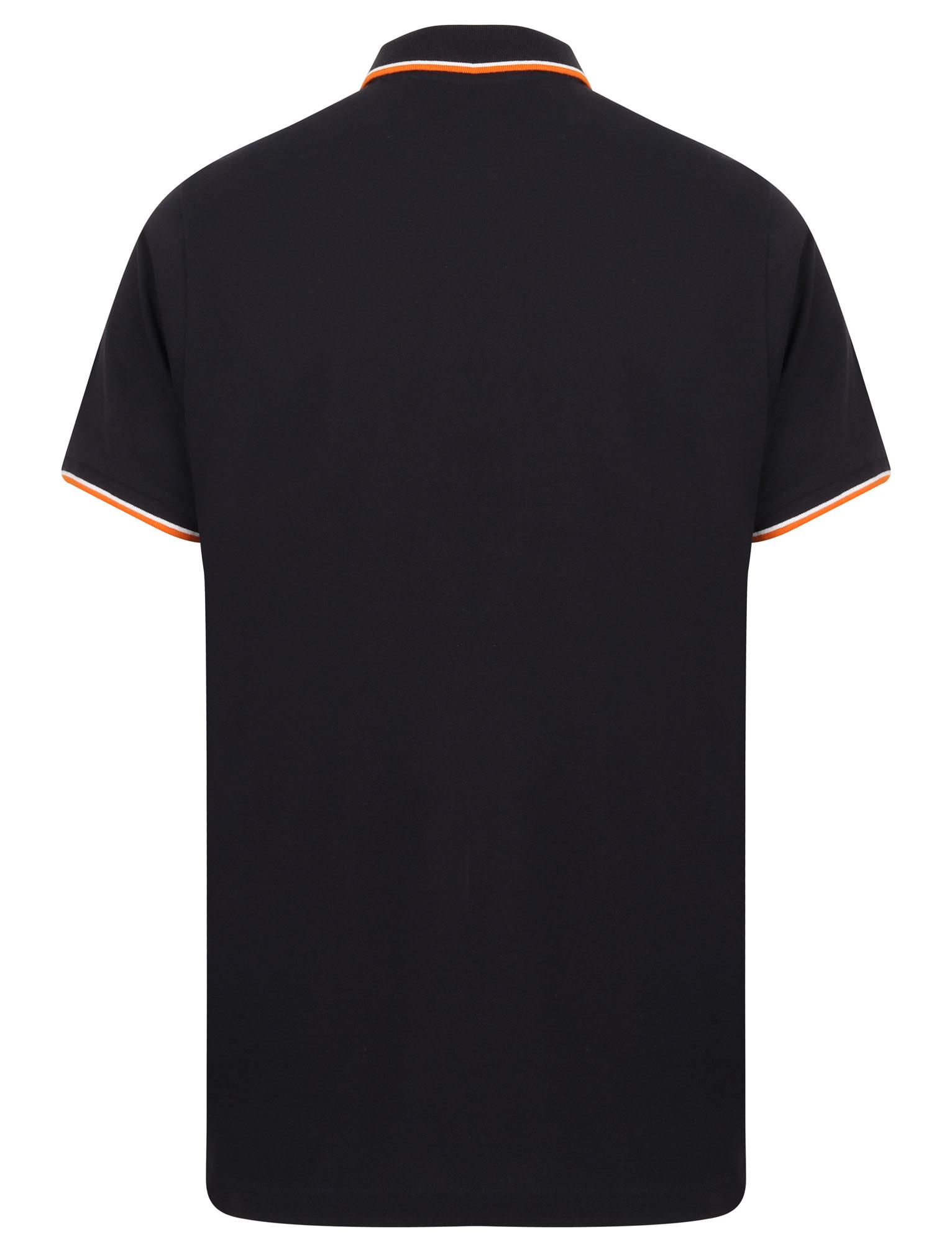 Sth-Shore-Mens-Plain-Polo-Shirt-100-Pique-Cotton-T-Shirt-Top-Collar-Size-M-XXL thumbnail 3