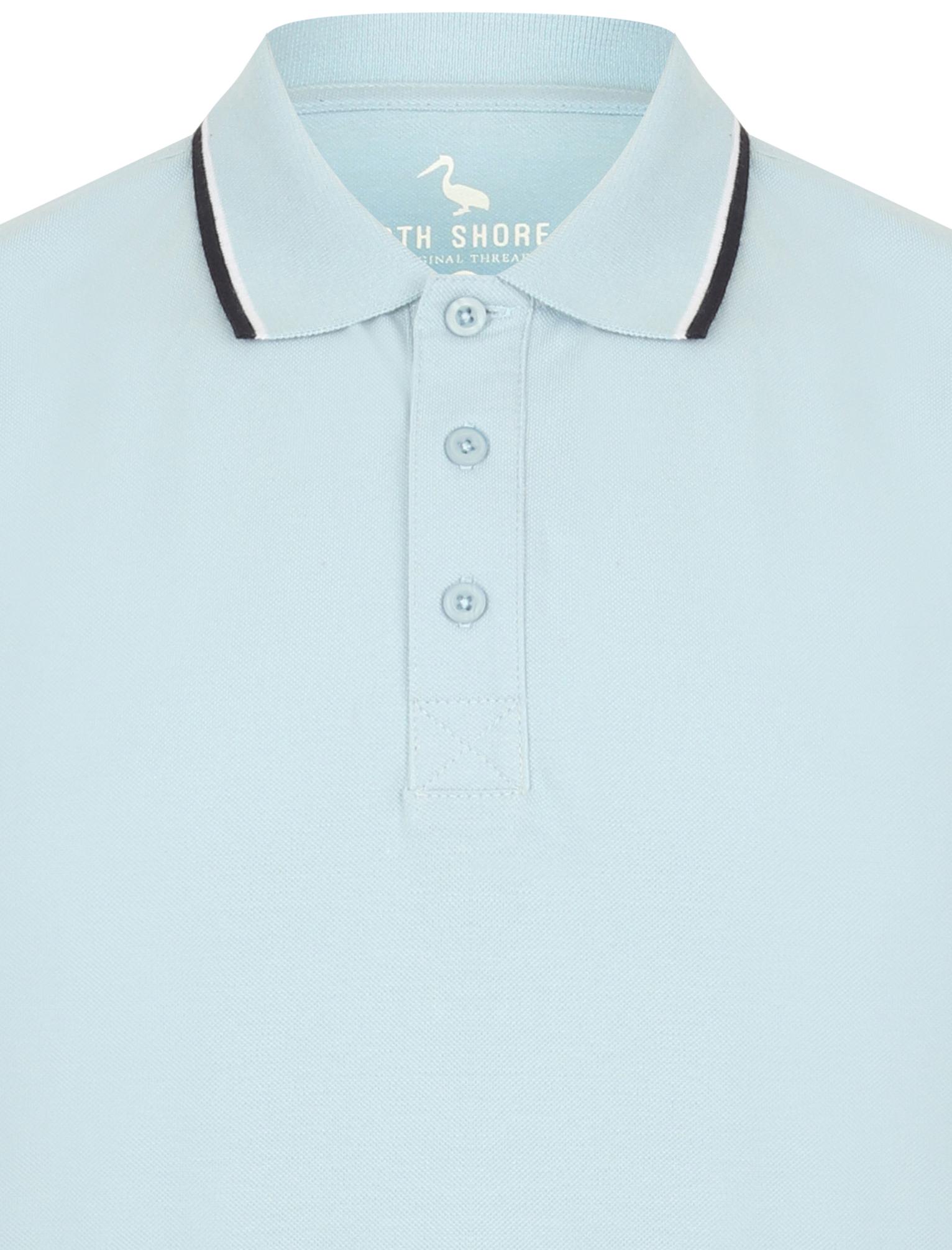 Sth-Shore-Mens-Plain-Polo-Shirt-100-Pique-Cotton-T-Shirt-Top-Collar-Size-M-XXL thumbnail 28