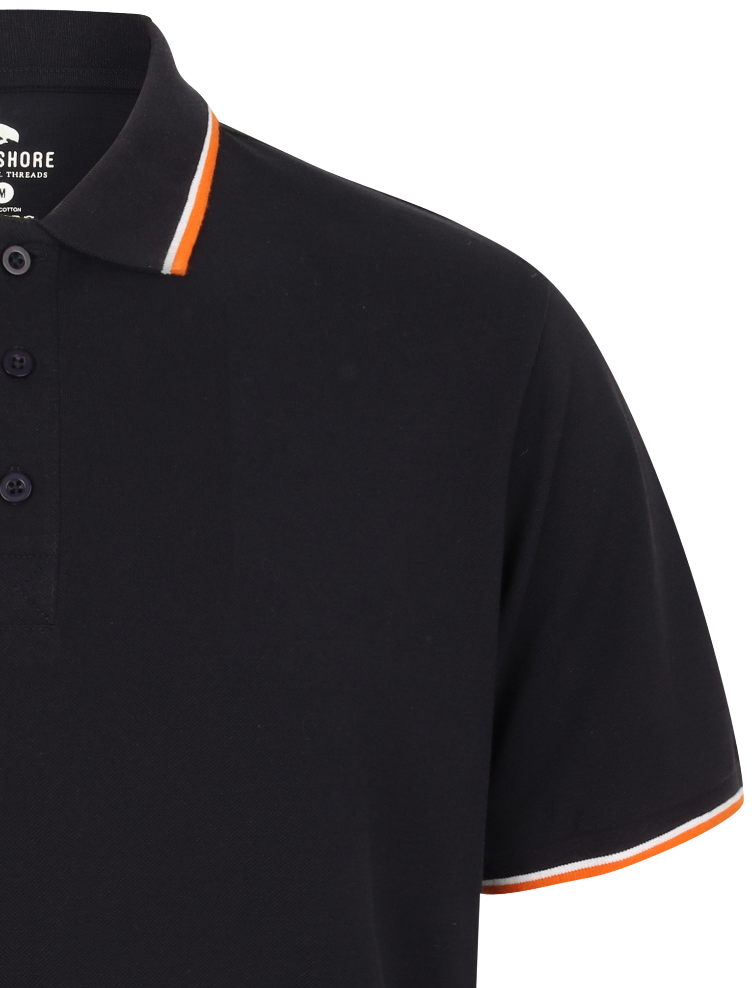 Sth-Shore-Mens-Plain-Polo-Shirt-100-Pique-Cotton-T-Shirt-Top-Collar-Size-M-XXL thumbnail 5