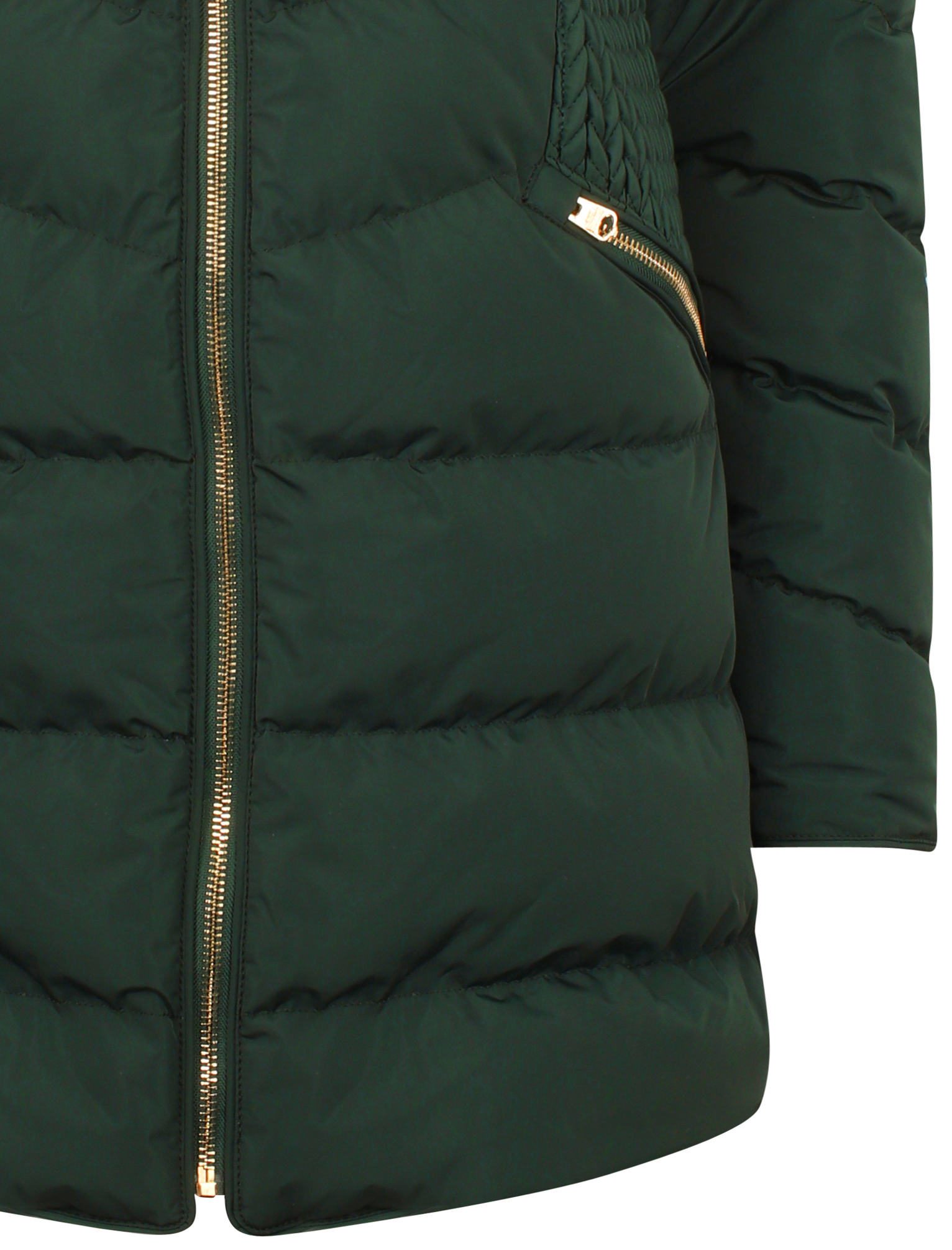 Tokyo-Laundry-Women-039-s-Shiso-Funnel-Neck-Padded-Quilted-Puffer-Coat-Longline thumbnail 10