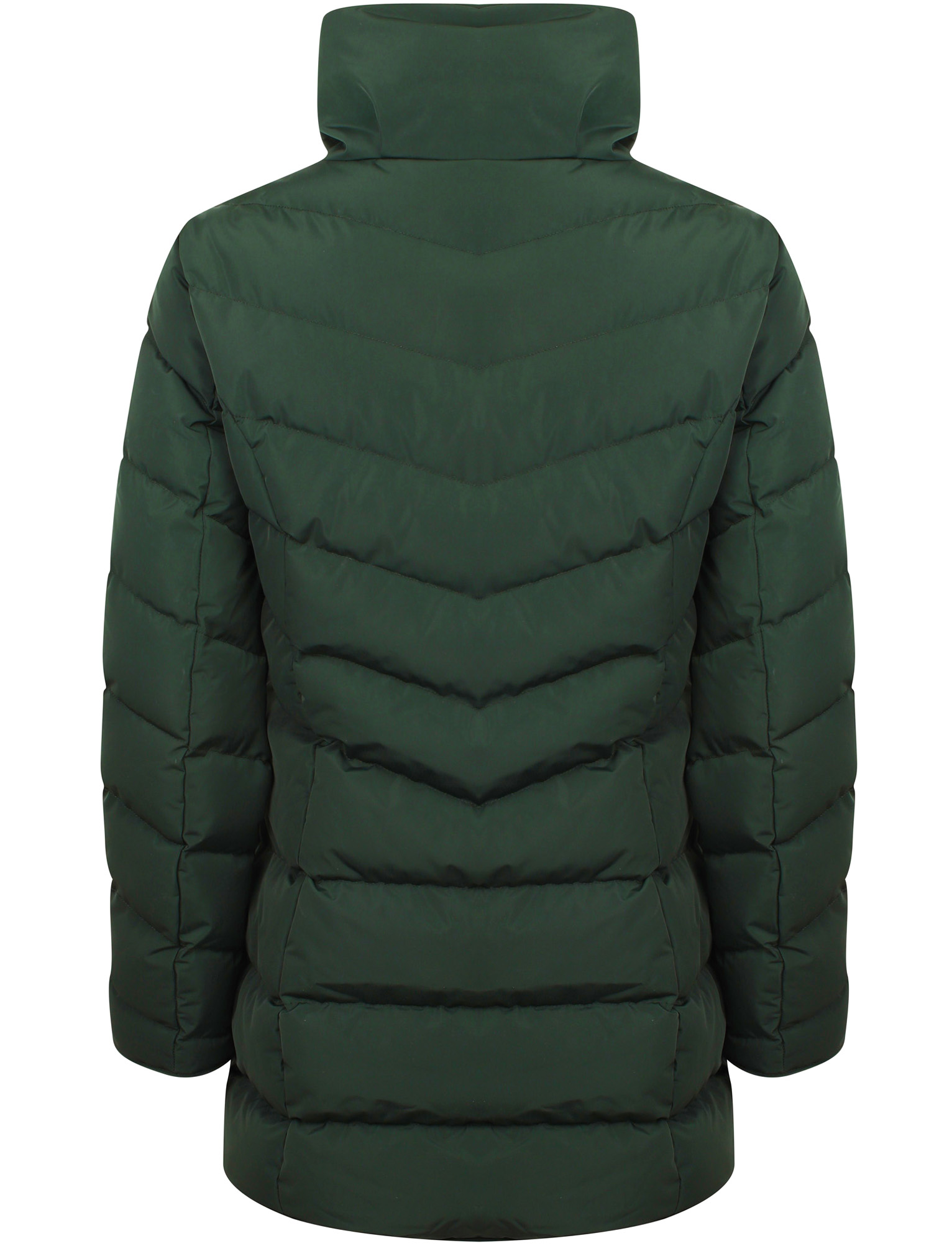 Tokyo-Laundry-Women-039-s-Shiso-Funnel-Neck-Padded-Quilted-Puffer-Coat-Longline thumbnail 8