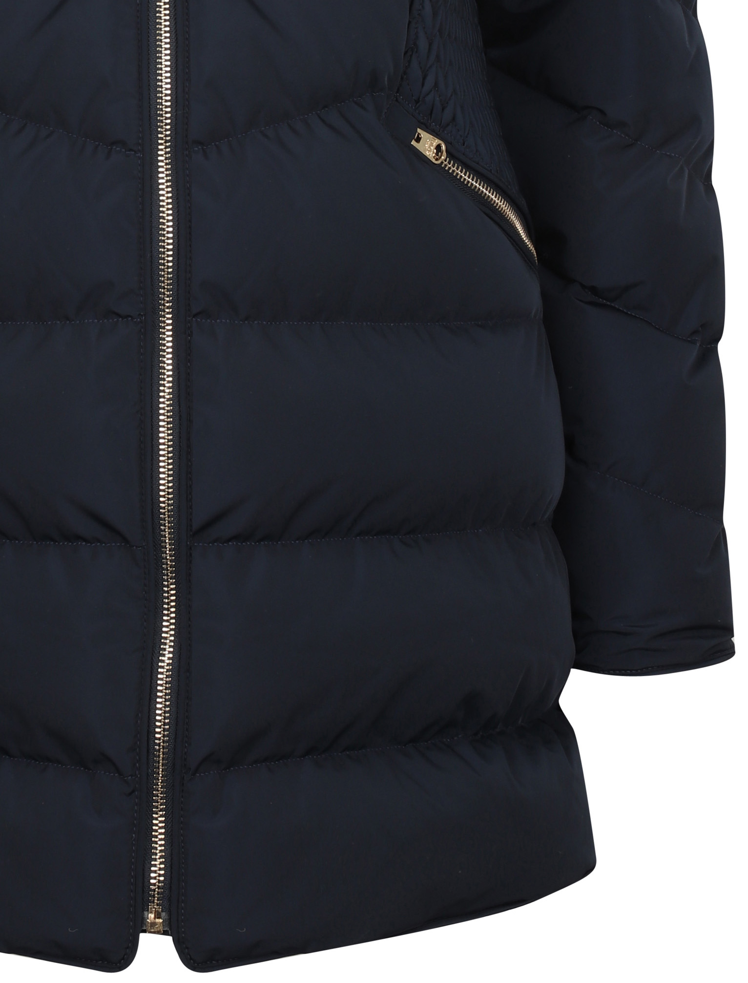 Tokyo-Laundry-Women-039-s-Shiso-Funnel-Neck-Padded-Quilted-Puffer-Coat-Longline thumbnail 5