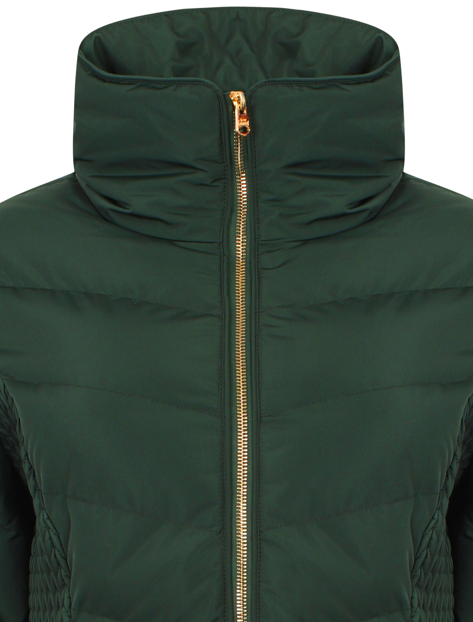 Tokyo-Laundry-Women-039-s-Shiso-Funnel-Neck-Padded-Quilted-Puffer-Coat-Longline thumbnail 9