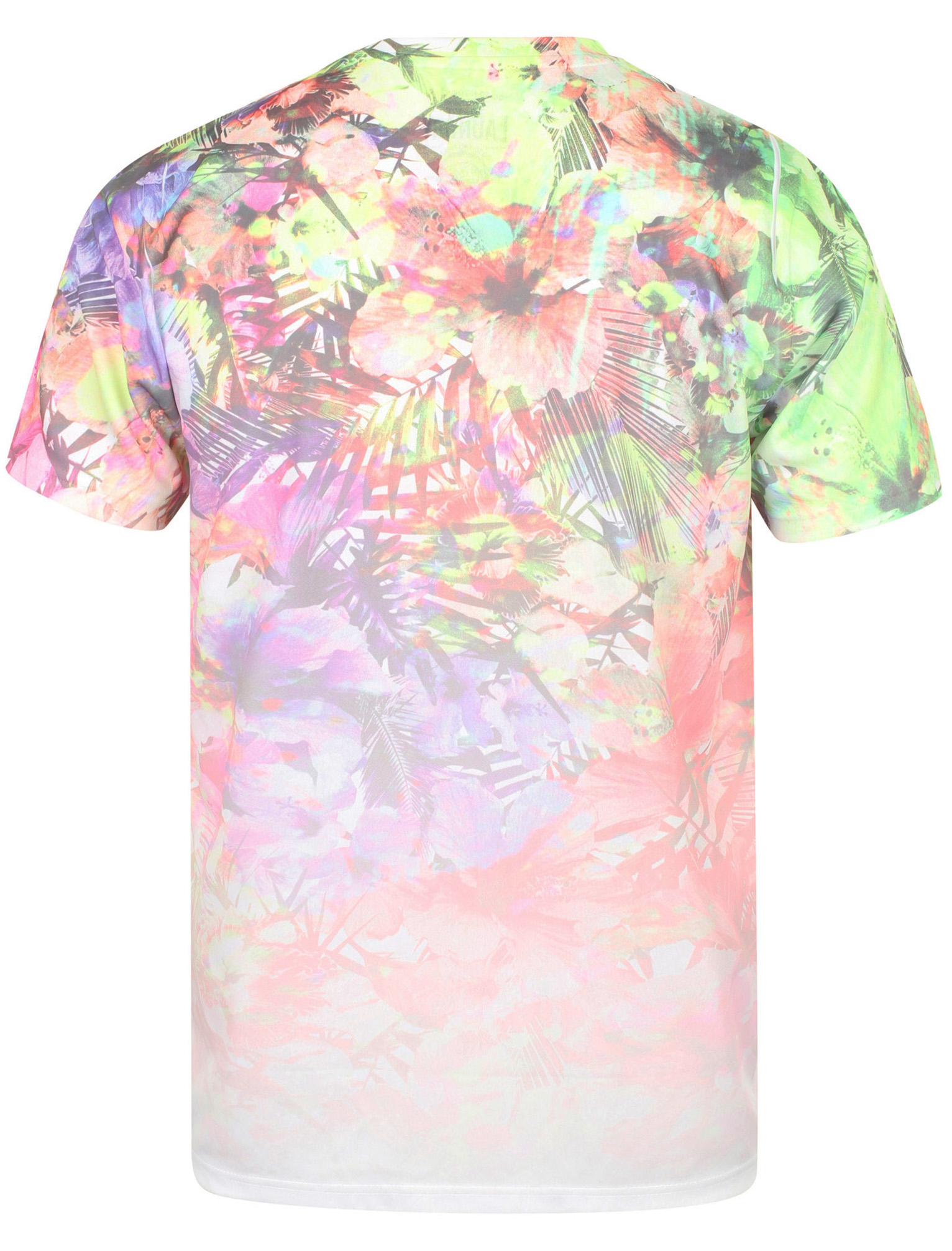 Tokyo-Laundry-Men-039-s-Tropical-Sublimation-Print-Summer-T-Shirt-Holiday-Floral-New thumbnail 3