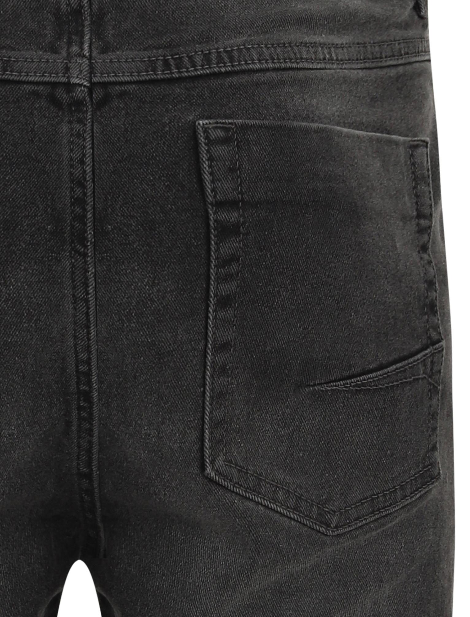 Tokyo-Laundry-Mens-Stretch-Denim-Shorts-Chino-Jean-Vintage-Dark-Light-Wash-Slim thumbnail 9