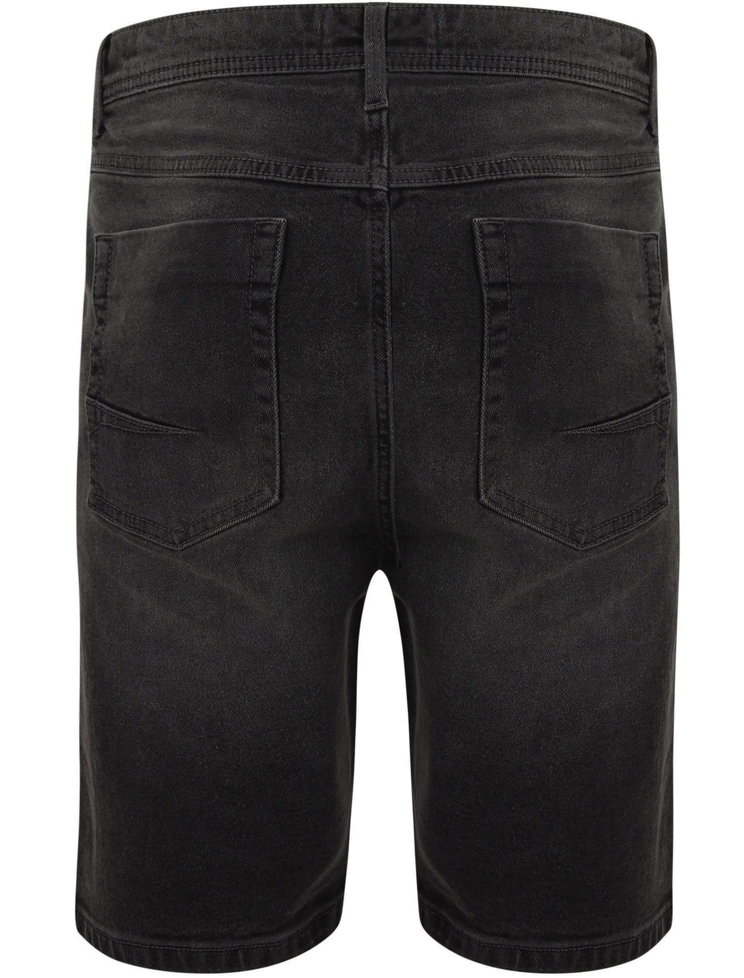 Tokyo-Laundry-Mens-Stretch-Denim-Shorts-Chino-Jean-Vintage-Dark-Light-Wash-Slim thumbnail 7