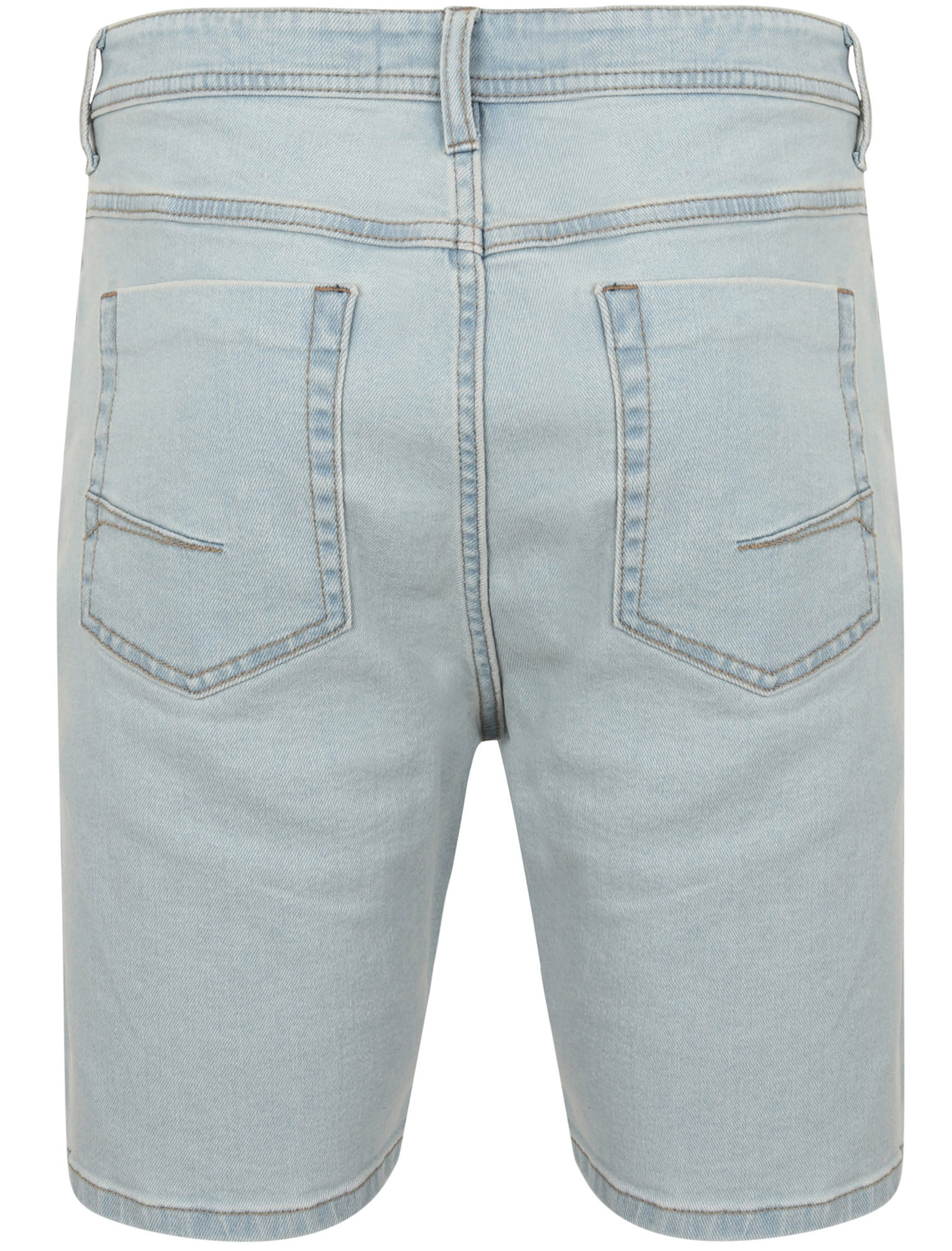 Tokyo-Laundry-Mens-Stretch-Denim-Shorts-Chino-Jean-Vintage-Dark-Light-Wash-Slim thumbnail 3