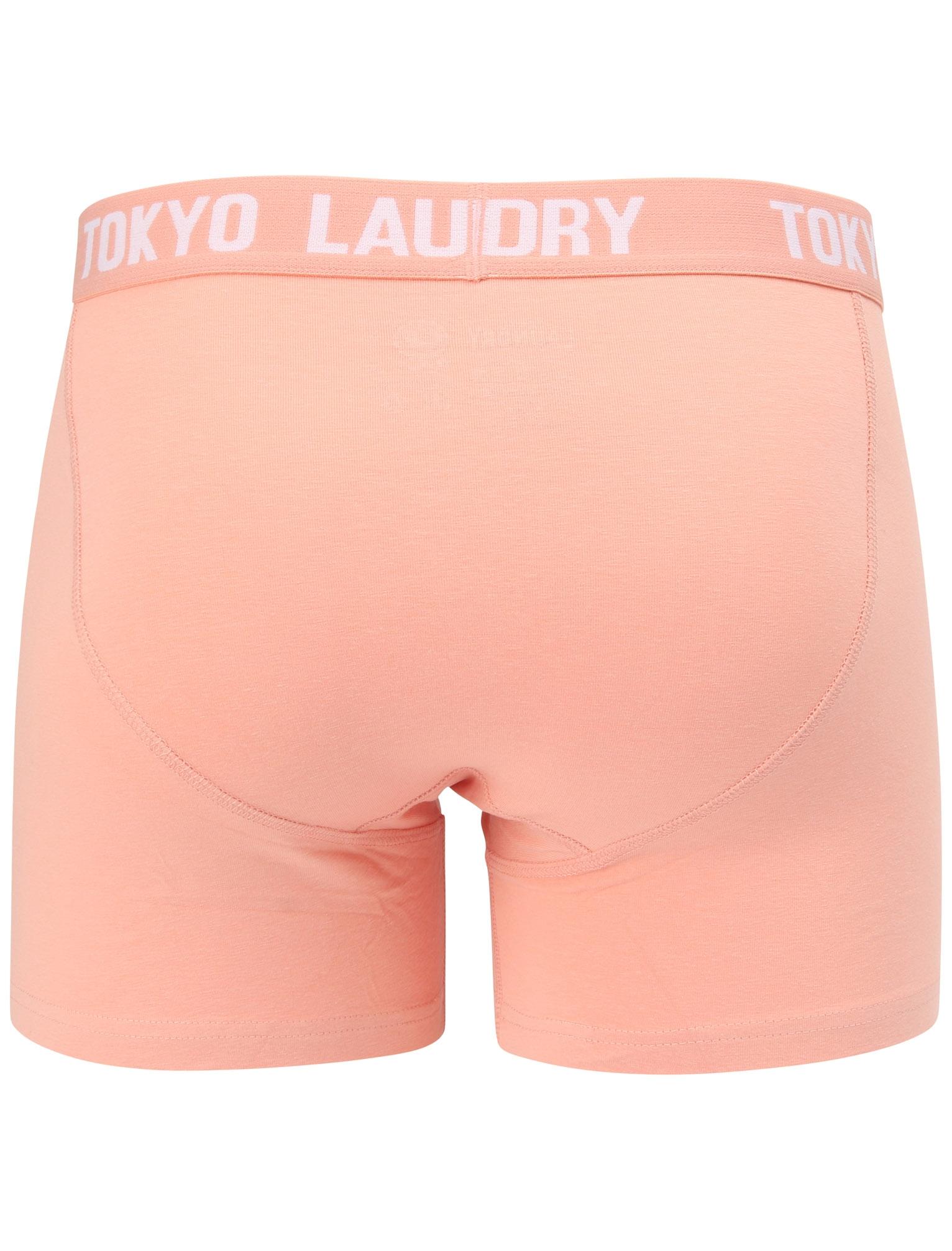 New-Mens-Tokyo-Laundry-Nash-2-Pack-Buttoned-Cotton-Boxer-Shorts-Set-Size-S-XXL thumbnail 6