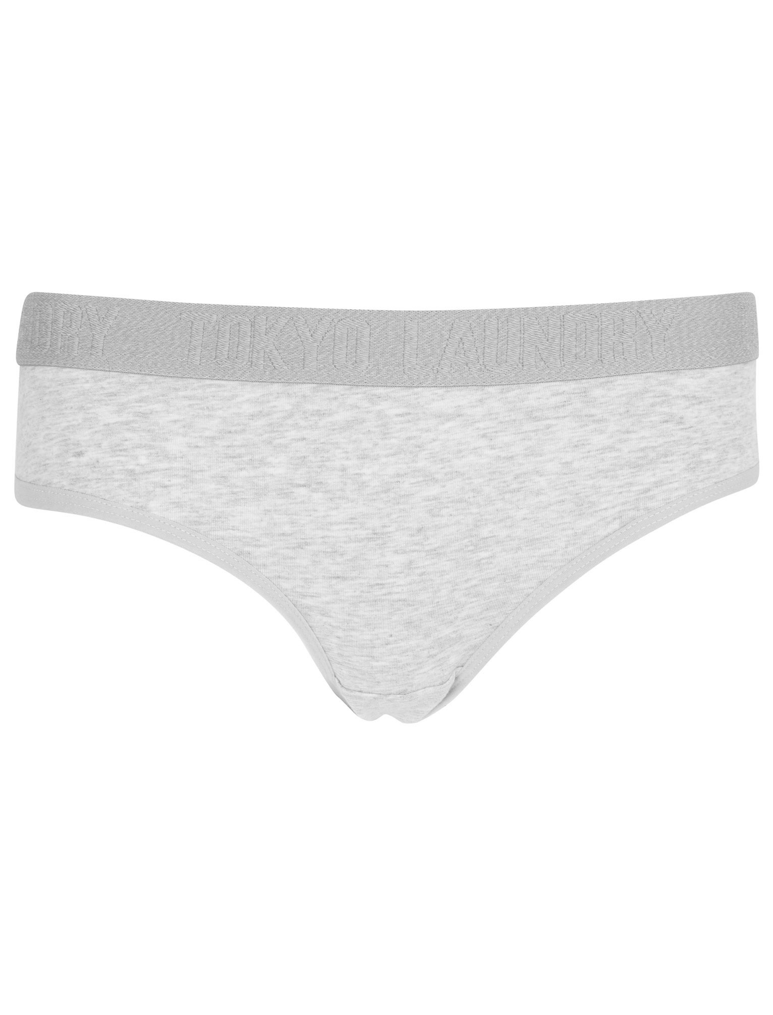 Tokyo-Laundry-Women-039-s-5-Pack-Briefs-Knickers-Underwear-Boxers-Elasticated-Waist thumbnail 9