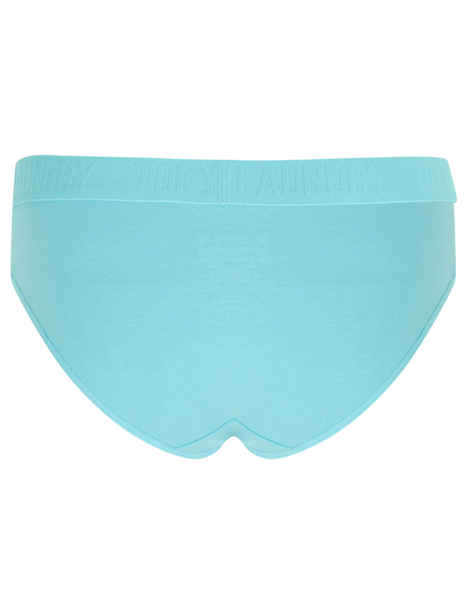 Tokyo-Laundry-Women-039-s-5-Pack-Briefs-Knickers-Underwear-Boxers-Elasticated-Waist thumbnail 4