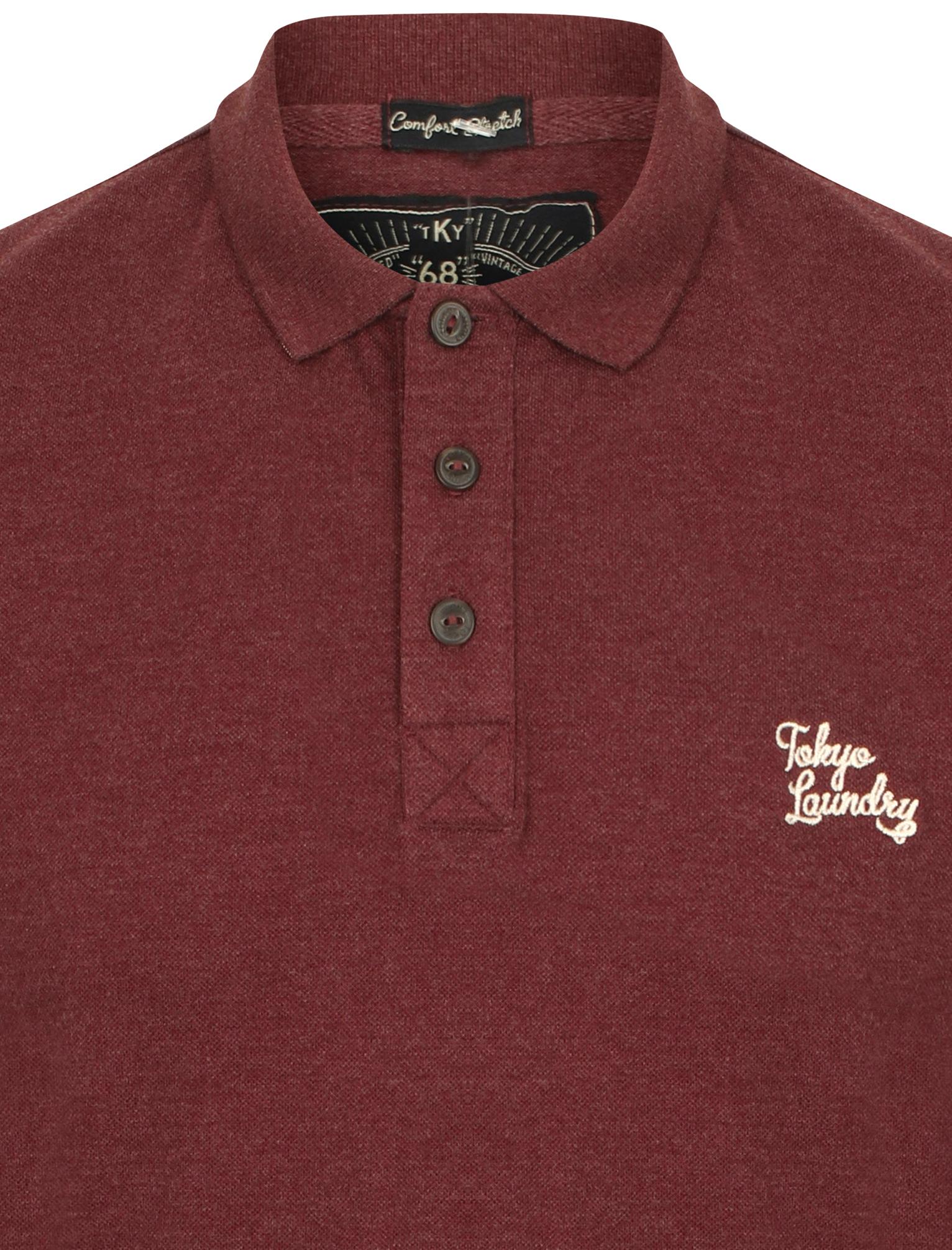 New-Mens-Tokyo-Laundry-Branded-Kuusamo-Cotton-Rich-Pique-Polo-Shirt-Size-S-XXL thumbnail 22
