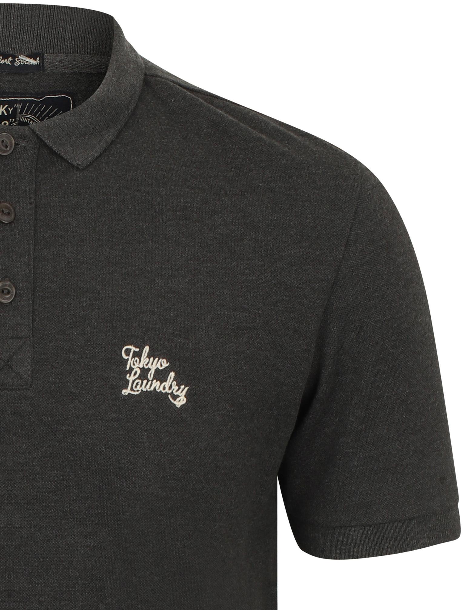 New-Mens-Tokyo-Laundry-Branded-Kuusamo-Cotton-Rich-Pique-Polo-Shirt-Size-S-XXL thumbnail 18