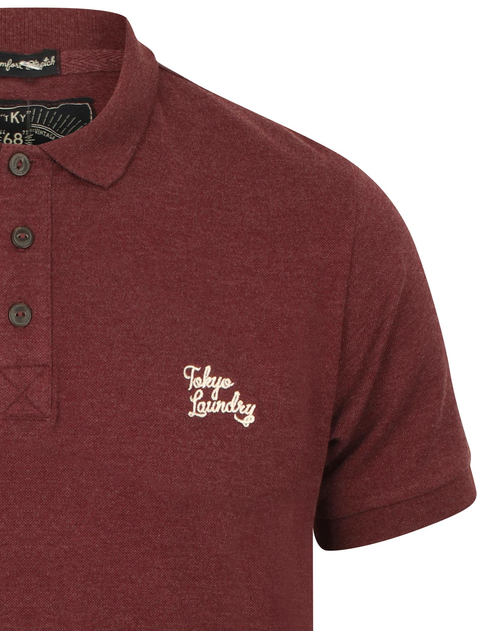 New-Mens-Tokyo-Laundry-Branded-Kuusamo-Cotton-Rich-Pique-Polo-Shirt-Size-S-XXL thumbnail 23