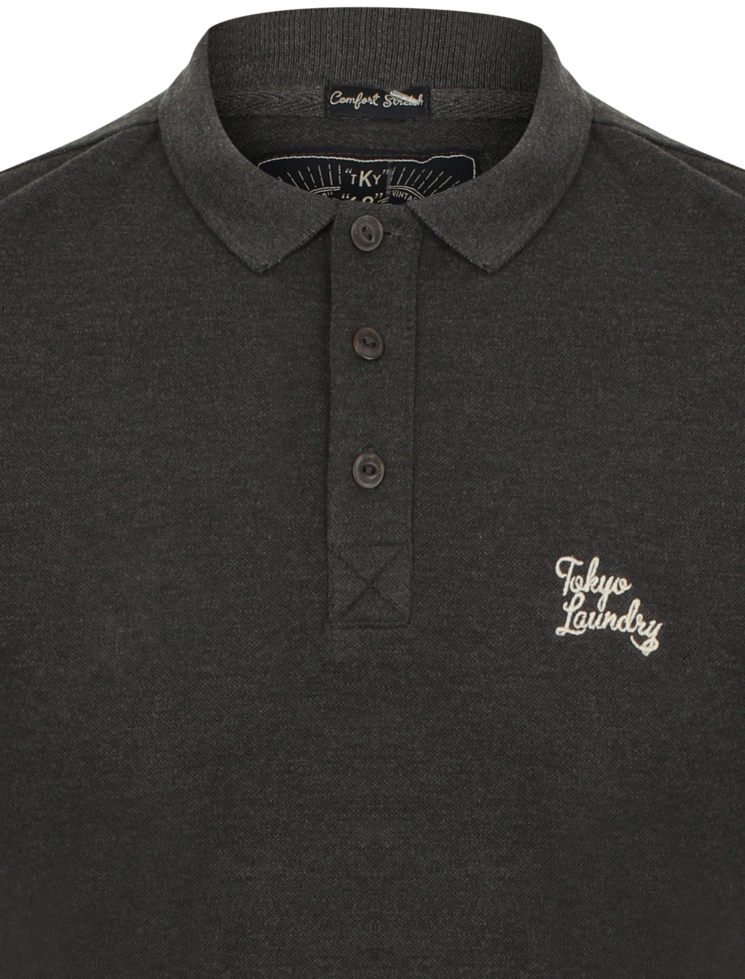 New-Mens-Tokyo-Laundry-Branded-Kuusamo-Cotton-Rich-Pique-Polo-Shirt-Size-S-XXL thumbnail 17