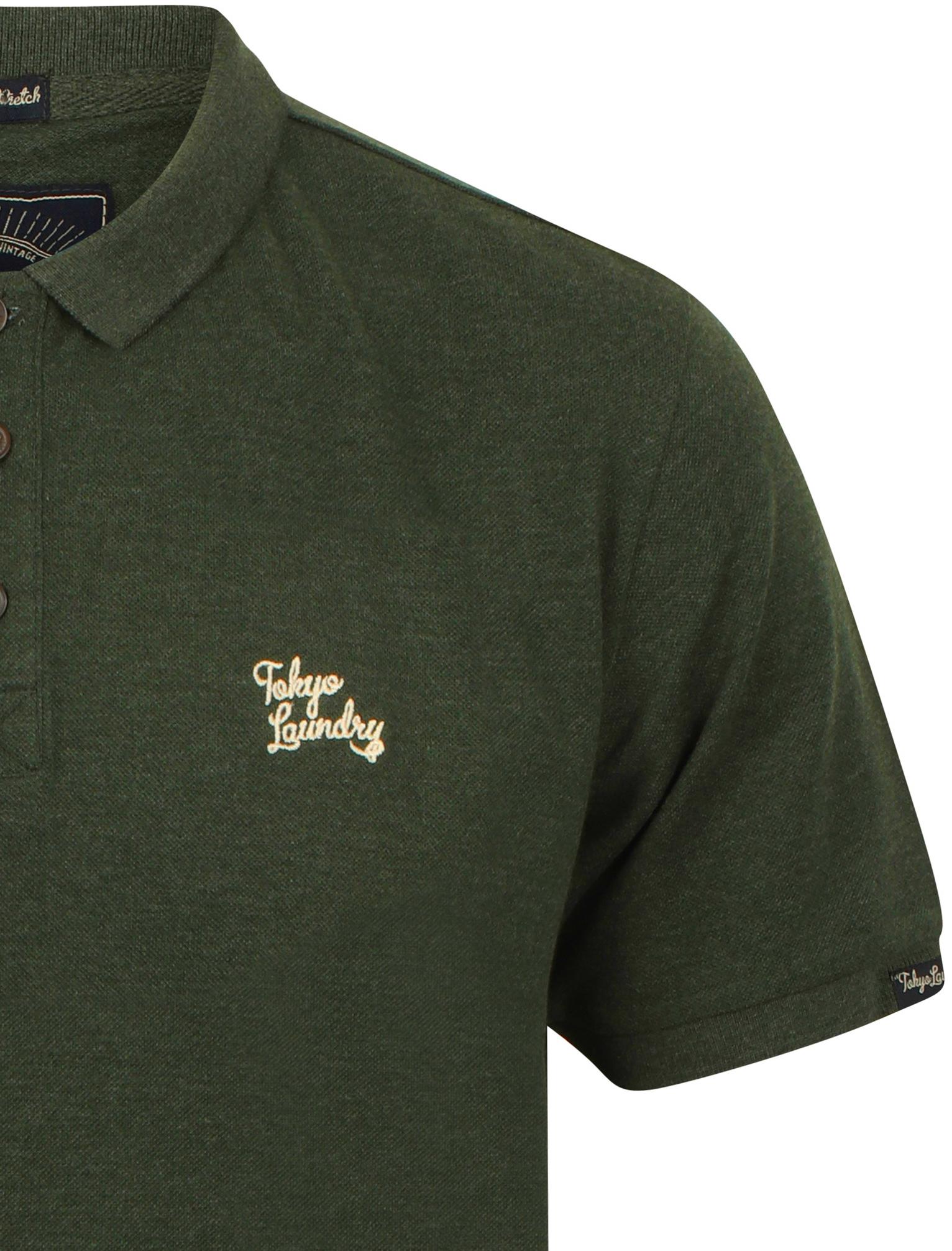 New-Mens-Tokyo-Laundry-Branded-Kuusamo-Cotton-Rich-Pique-Polo-Shirt-Size-S-XXL thumbnail 28