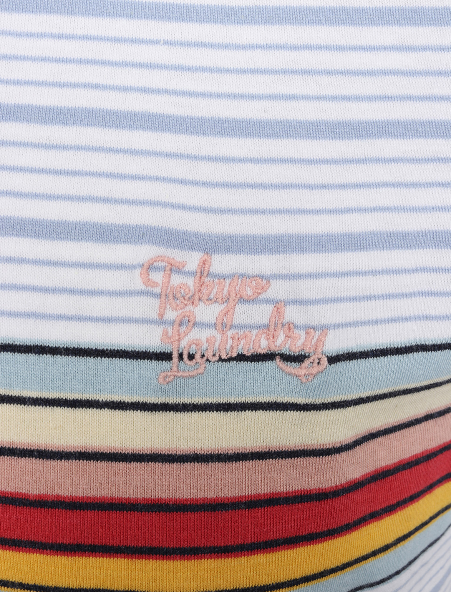 Tokyo-Laundry-Men-039-s-Bakersfield-Striped-Polo-Shirt-Stripy-Retro-Vintage-T-Shirt thumbnail 12