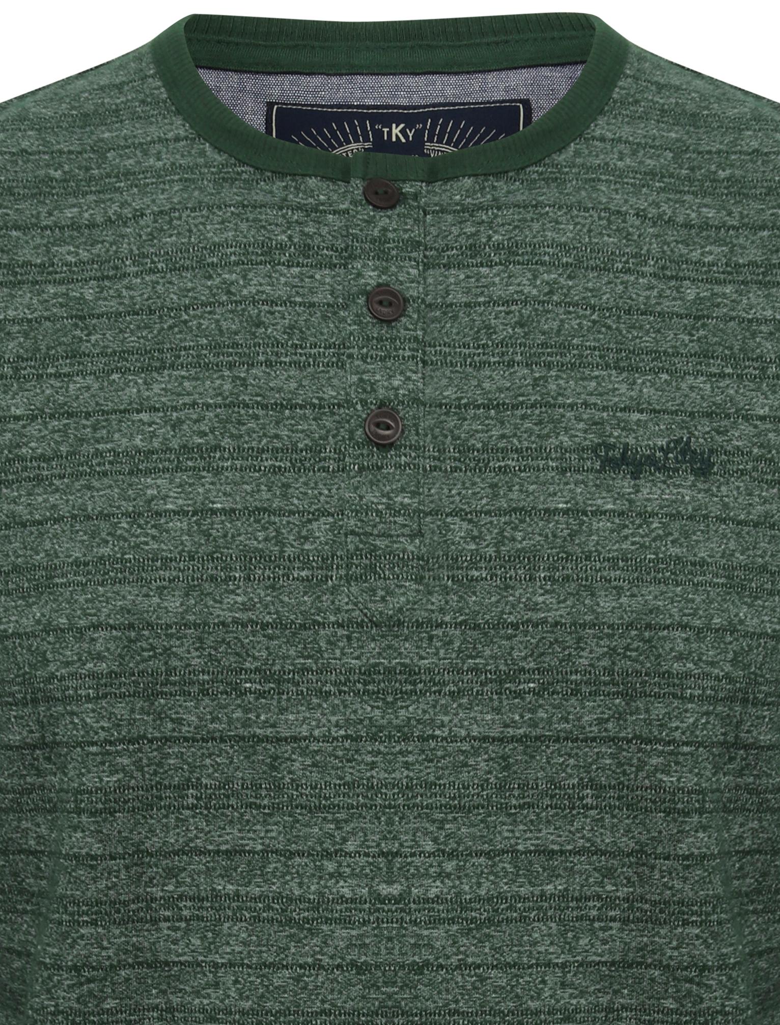 Tokyo-Laundry-Men-Hoaden-Crew-Neck-Long-Sleeve-T-Shirt-Top-Henley-Grandad-Collar thumbnail 14