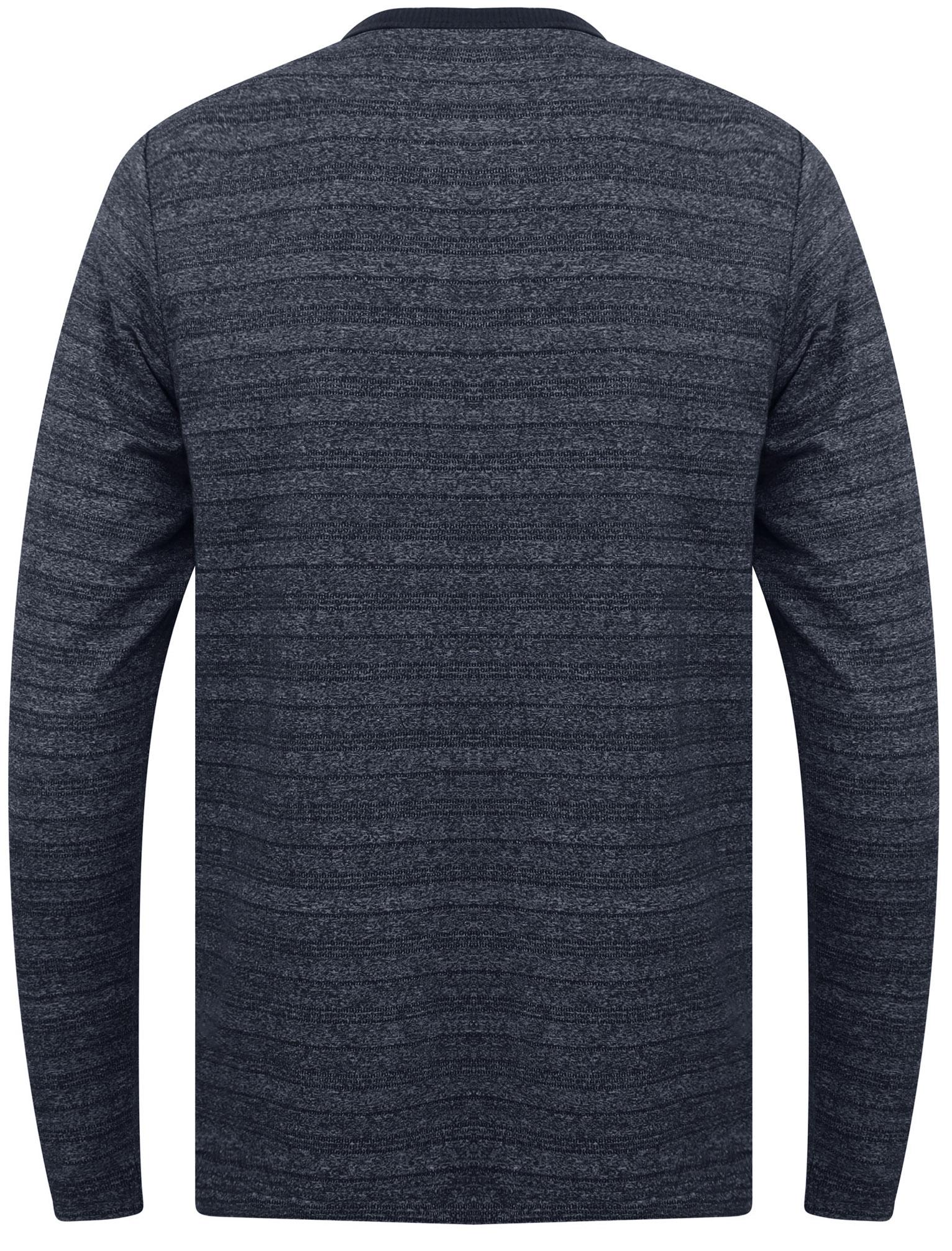 Tokyo-Laundry-Men-Hoaden-Crew-Neck-Long-Sleeve-T-Shirt-Top-Henley-Grandad-Collar thumbnail 3