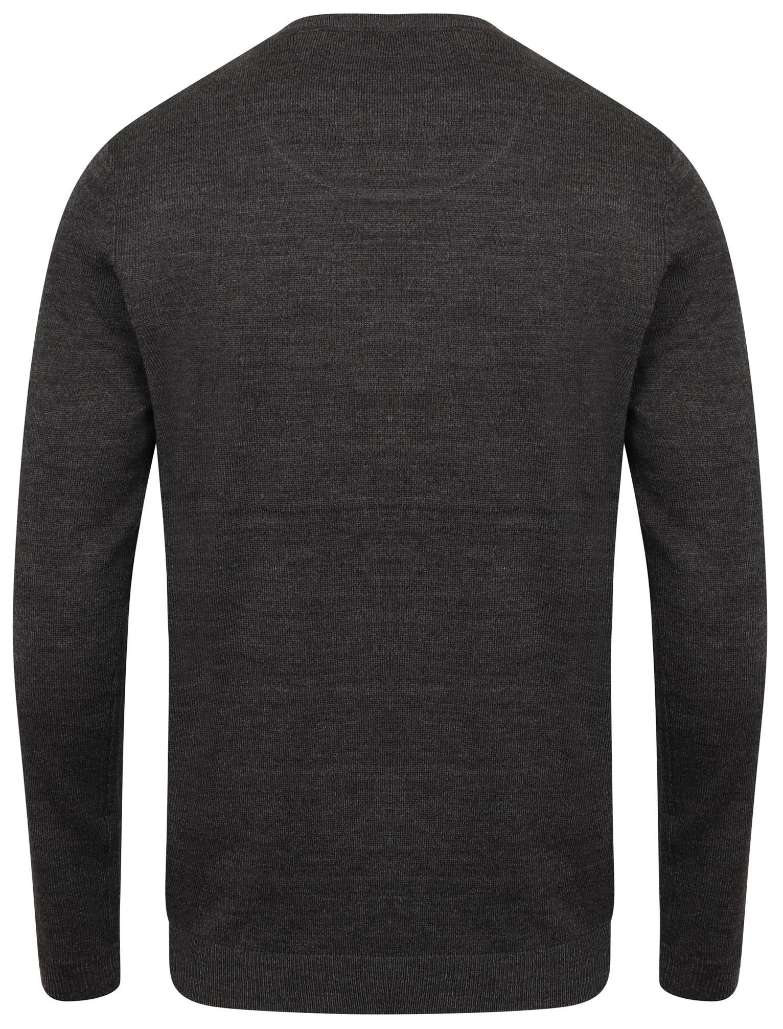 Kensington-Eastside-Men-039-s-Knitted-Crew-or-V-Neck-Jumper-Sweater-Top-Pullover thumbnail 21