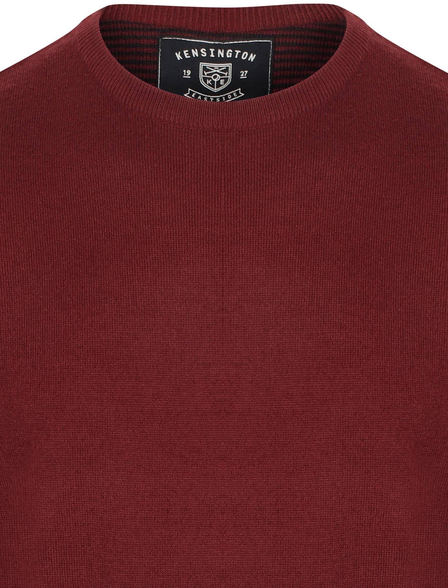 Kensington-Eastside-Men-039-s-Wool-Blend-Knitted-Crew-or-V-Neck-Jumper-Sweater-Top thumbnail 16