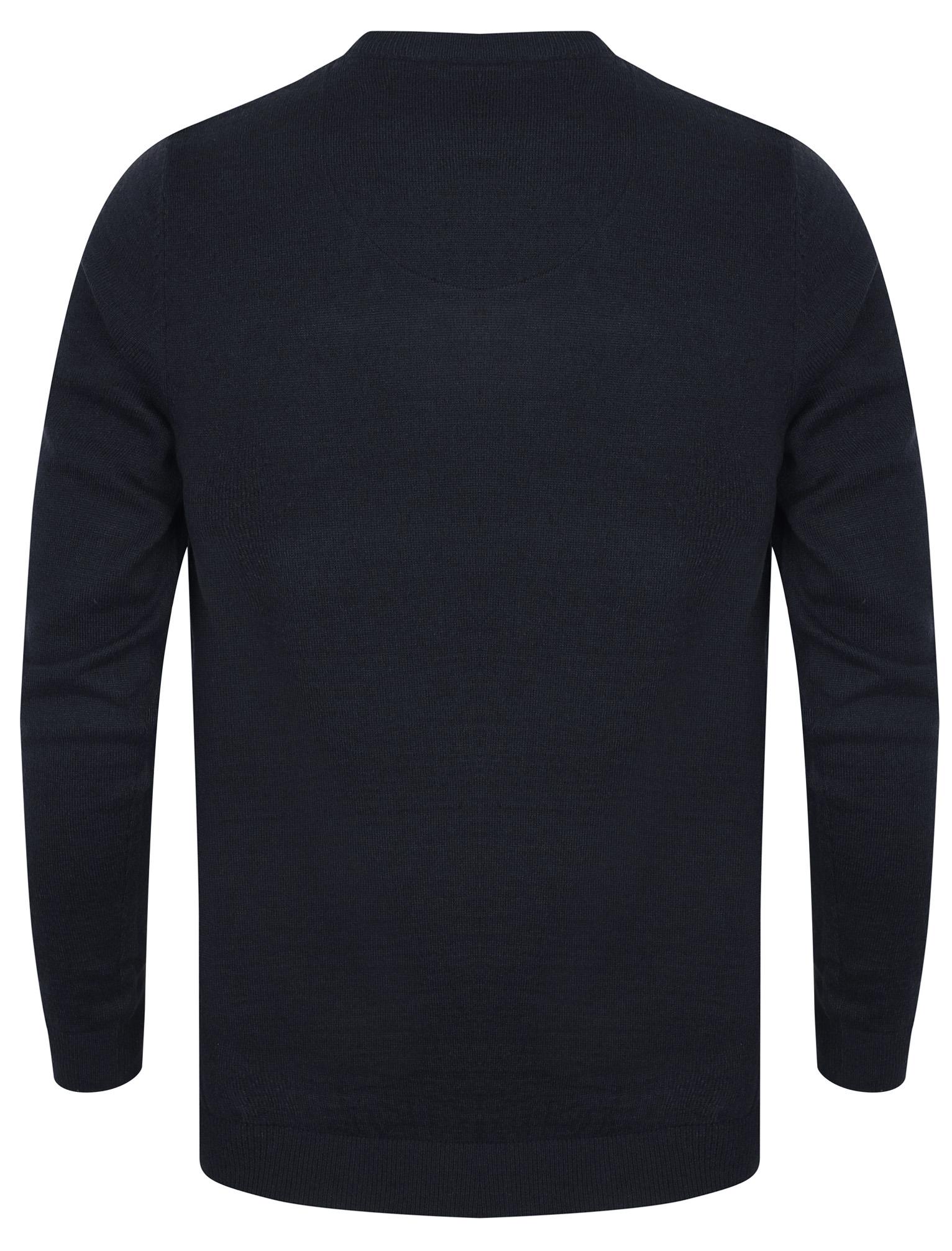 Kensington-Eastside-Men-039-s-Knitted-Crew-or-V-Neck-Jumper-Sweater-Top-Pullover thumbnail 3