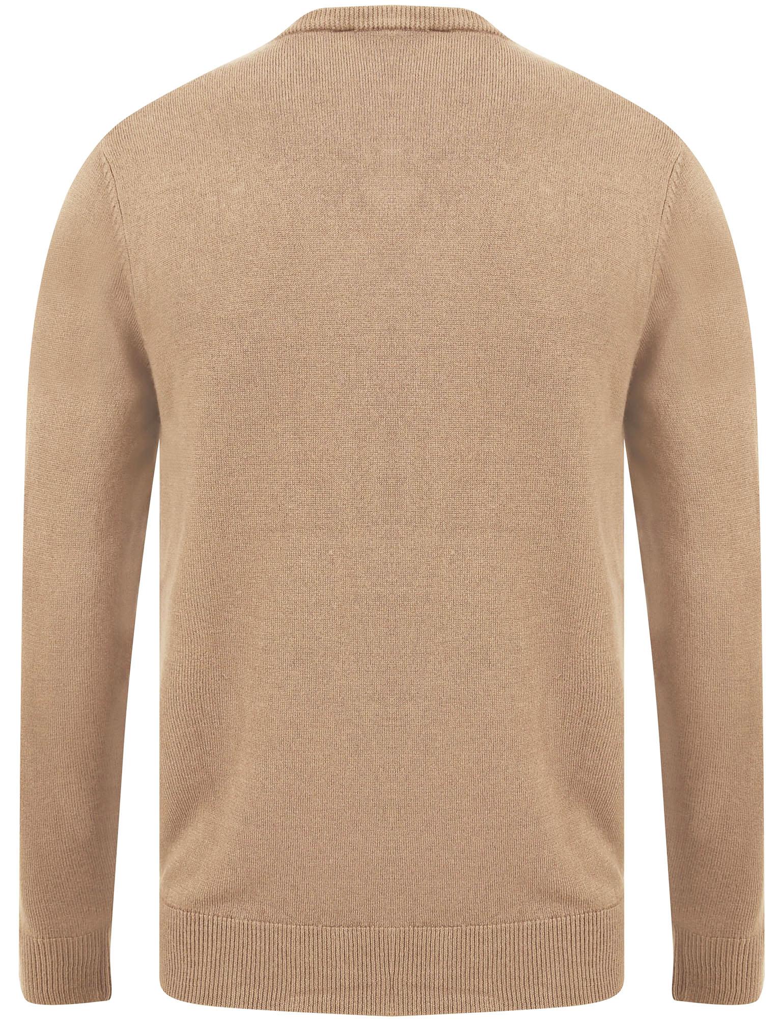 Kensington-Eastside-Men-039-s-Knitted-Crew-or-V-Neck-Jumper-Sweater-Top-Pullover thumbnail 106