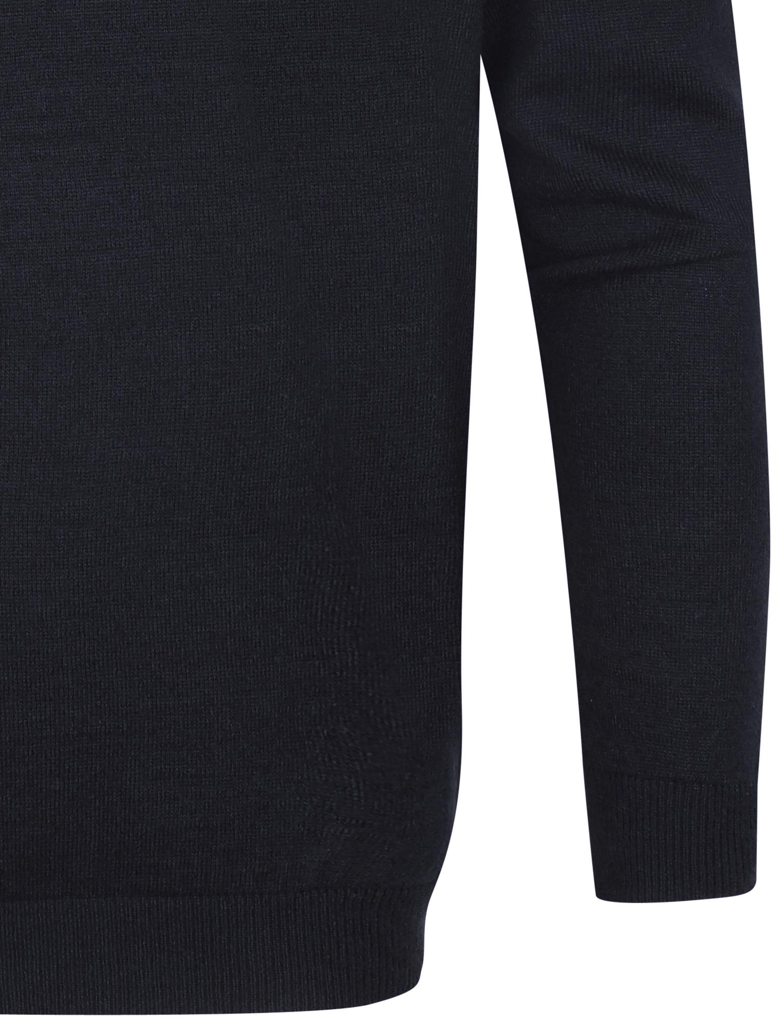 Kensington-Eastside-Men-039-s-Knitted-Crew-or-V-Neck-Jumper-Sweater-Top-Pullover thumbnail 5