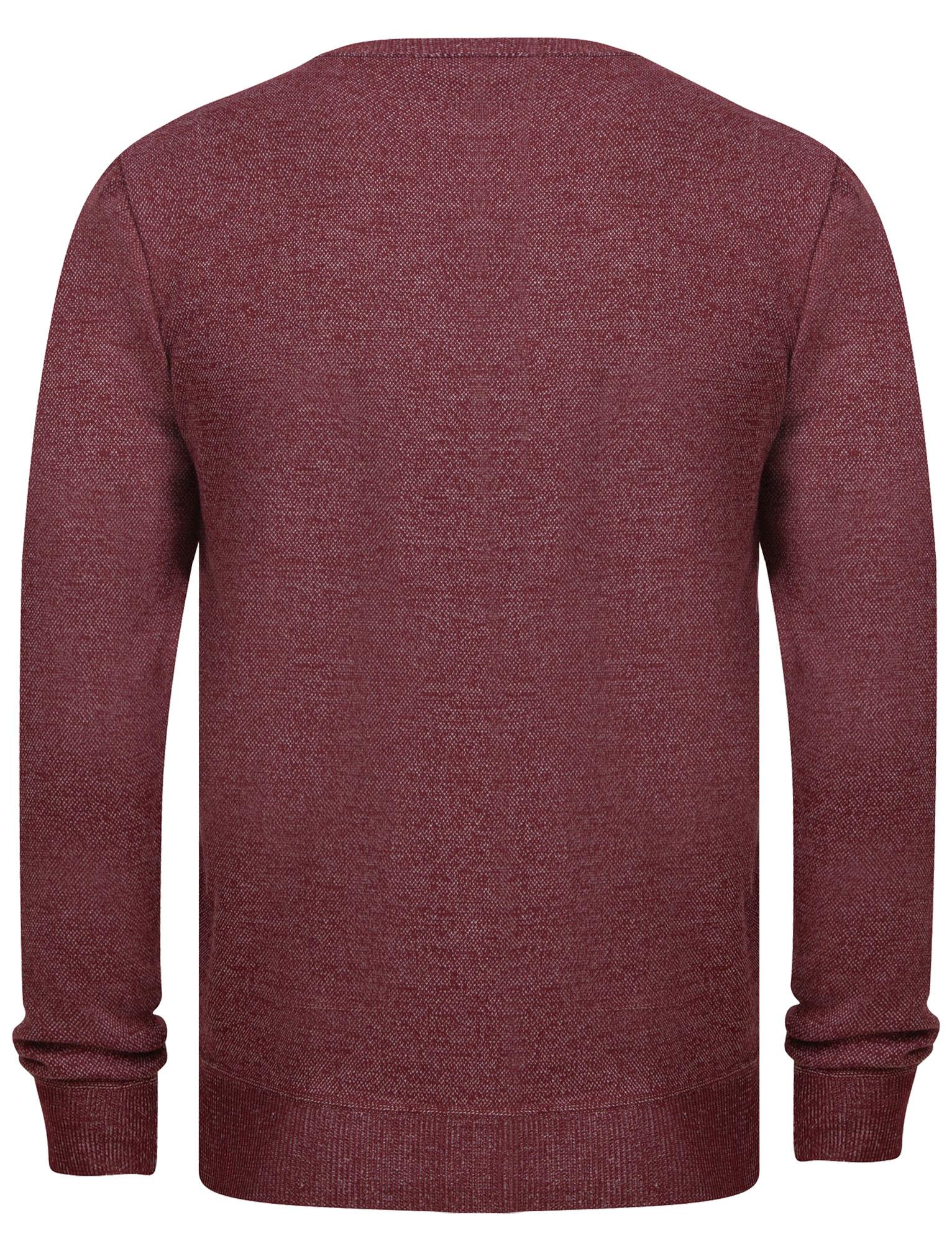 Kensington-Eastside-Men-039-s-Knitted-Crew-or-V-Neck-Jumper-Sweater-Top-Pullover thumbnail 62