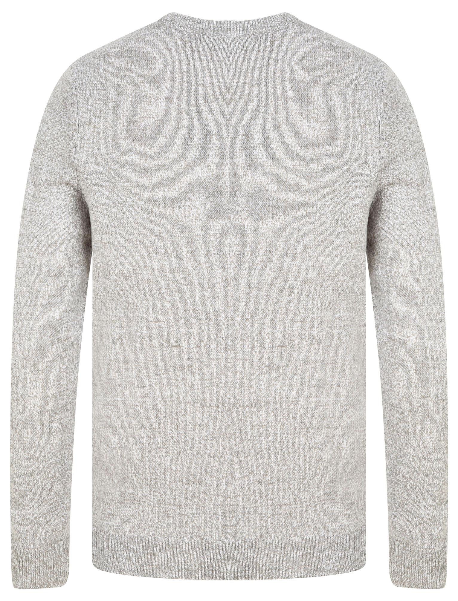 Kensington-Eastside-Men-039-s-Knitted-Crew-or-V-Neck-Jumper-Sweater-Top-Pullover thumbnail 94