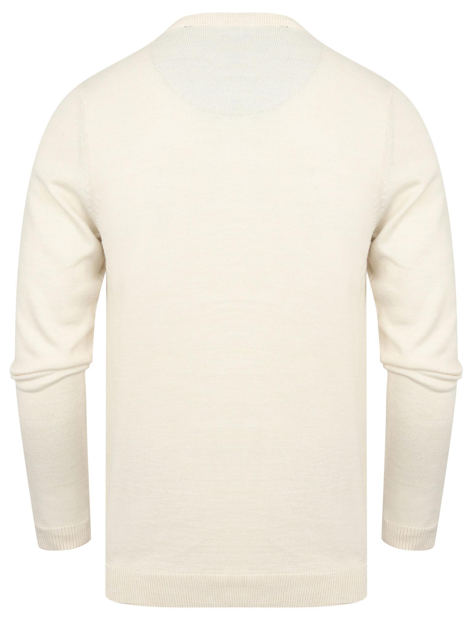 Kensington-Eastside-Men-039-s-Knitted-Crew-or-V-Neck-Jumper-Sweater-Top-Pullover thumbnail 27