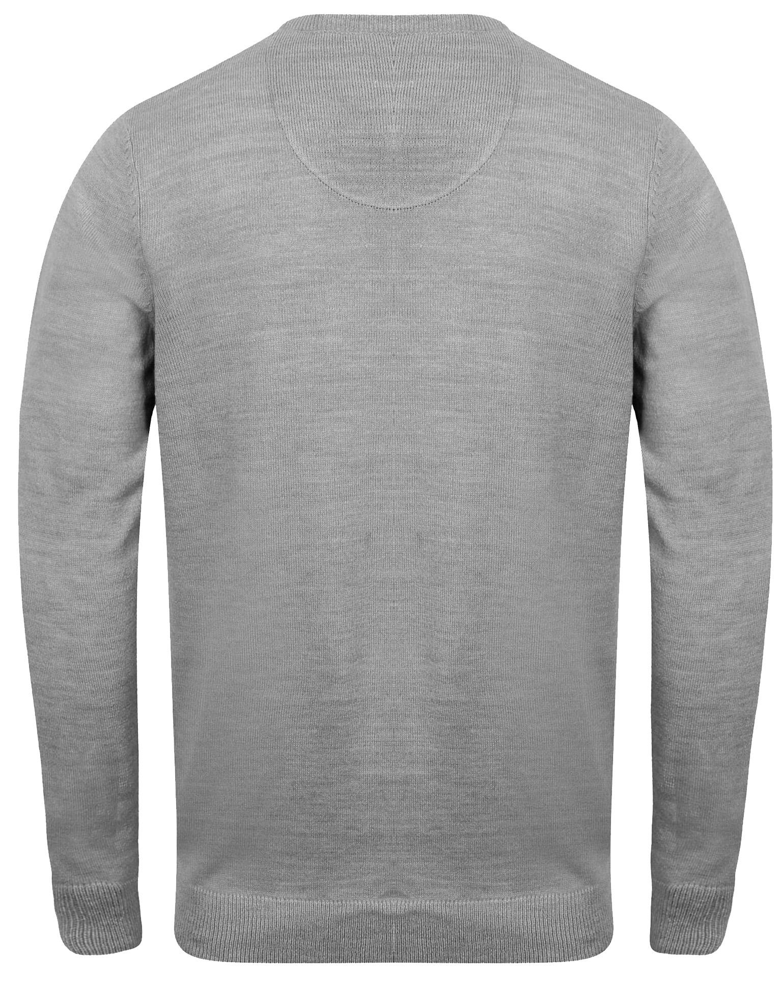 Kensington-Eastside-Men-039-s-Knitted-Crew-or-V-Neck-Jumper-Sweater-Top-Pullover thumbnail 25