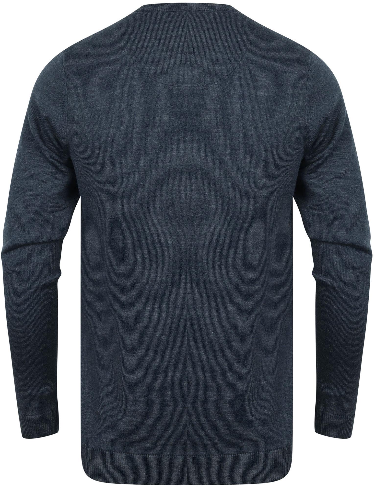 Kensington-Eastside-Men-039-s-Knitted-Crew-or-V-Neck-Jumper-Sweater-Top-Pullover thumbnail 37