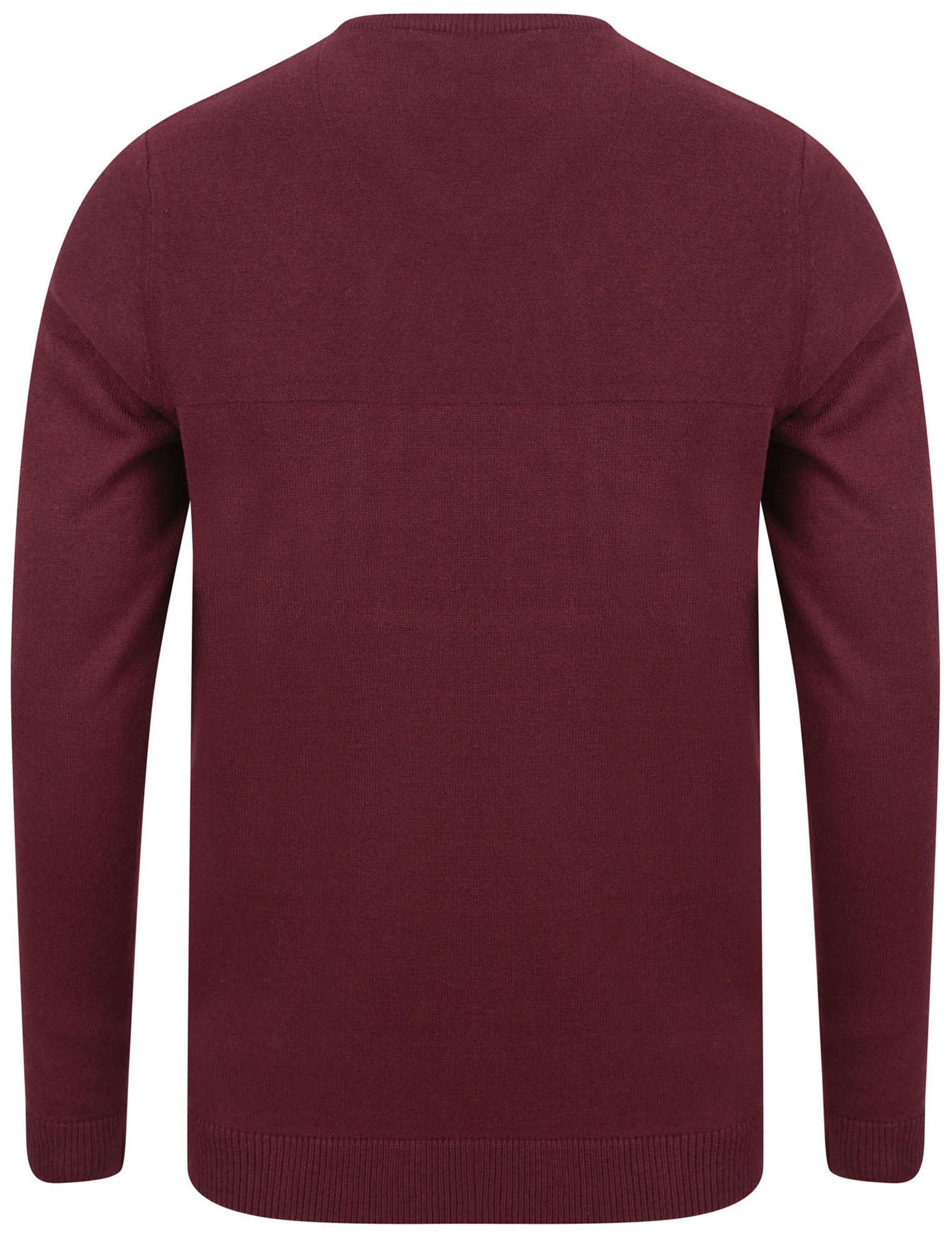 Kensington-Eastside-Men-039-s-Knitted-Crew-or-V-Neck-Jumper-Sweater-Top-Pullover thumbnail 54