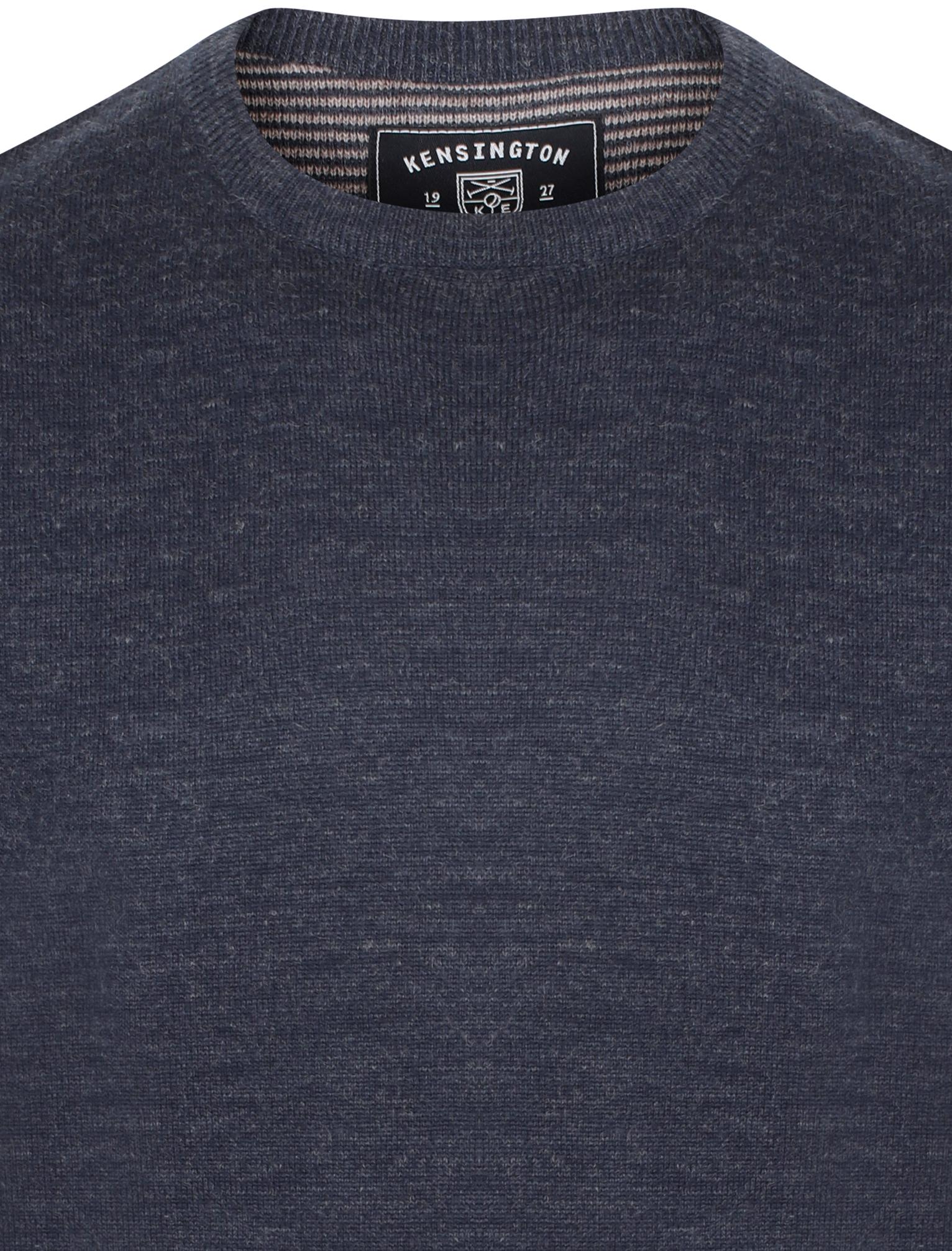 Kensington-Eastside-Men-039-s-Wool-Blend-Knitted-Crew-or-V-Neck-Jumper-Sweater-Top thumbnail 24