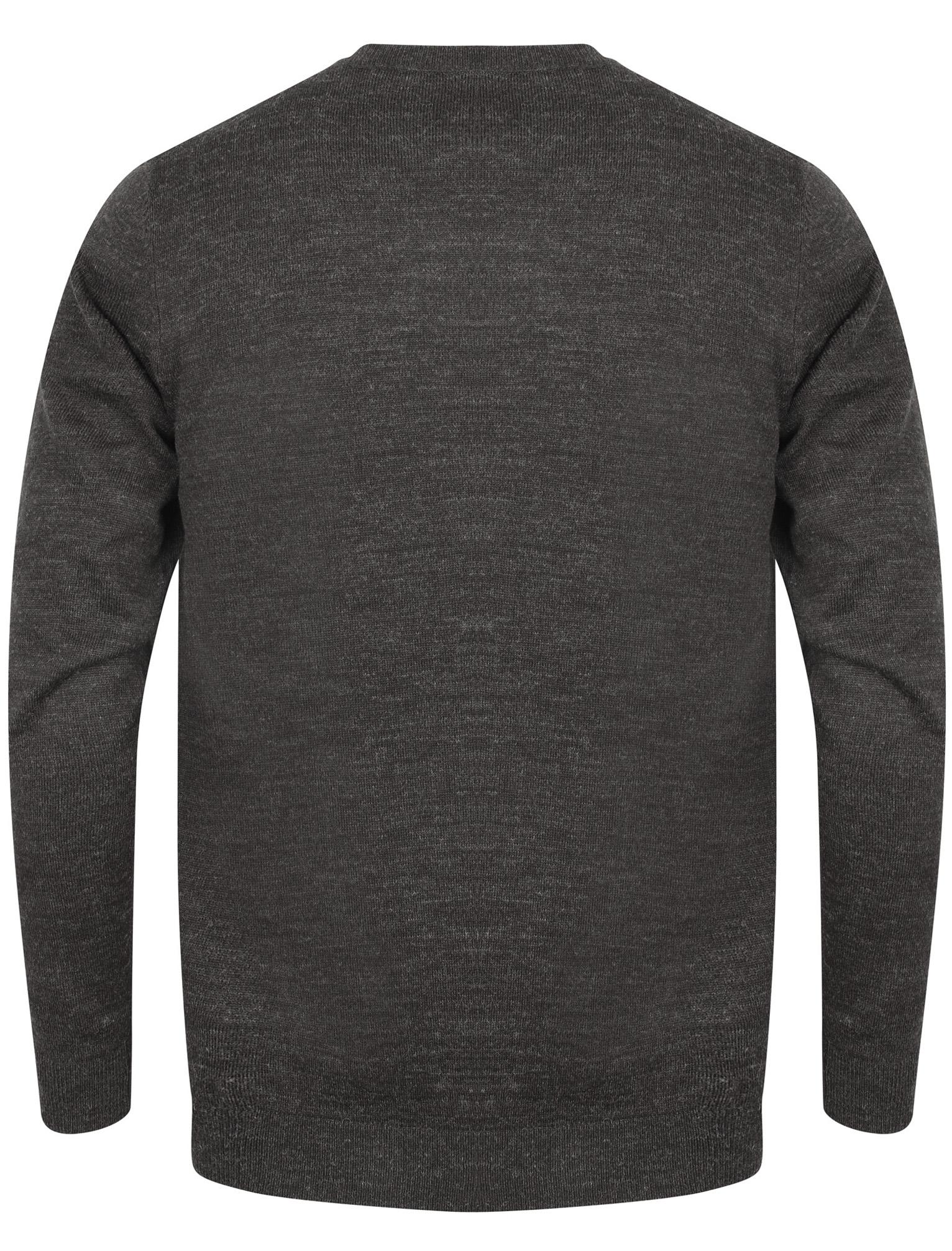 Kensington-Eastside-Men-039-s-Knitted-Crew-or-V-Neck-Jumper-Sweater-Top-Pullover thumbnail 7