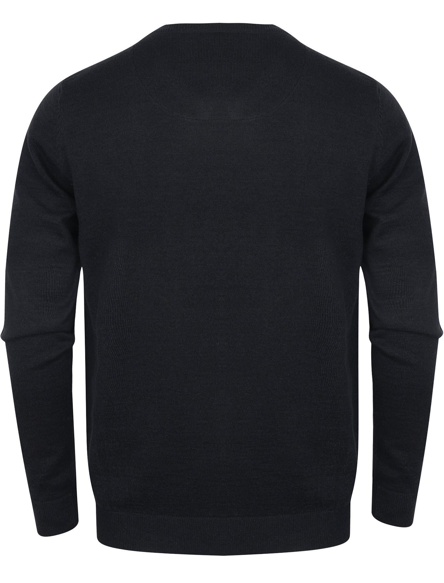 Kensington-Eastside-Men-039-s-Wool-Blend-Knitted-Crew-or-V-Neck-Jumper-Sweater-Top thumbnail 27