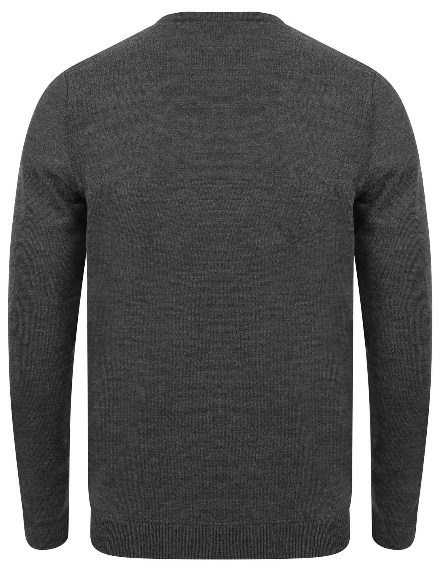 Kensington-Eastside-Men-039-s-Knitted-Crew-or-V-Neck-Jumper-Sweater-Top-Pullover thumbnail 45