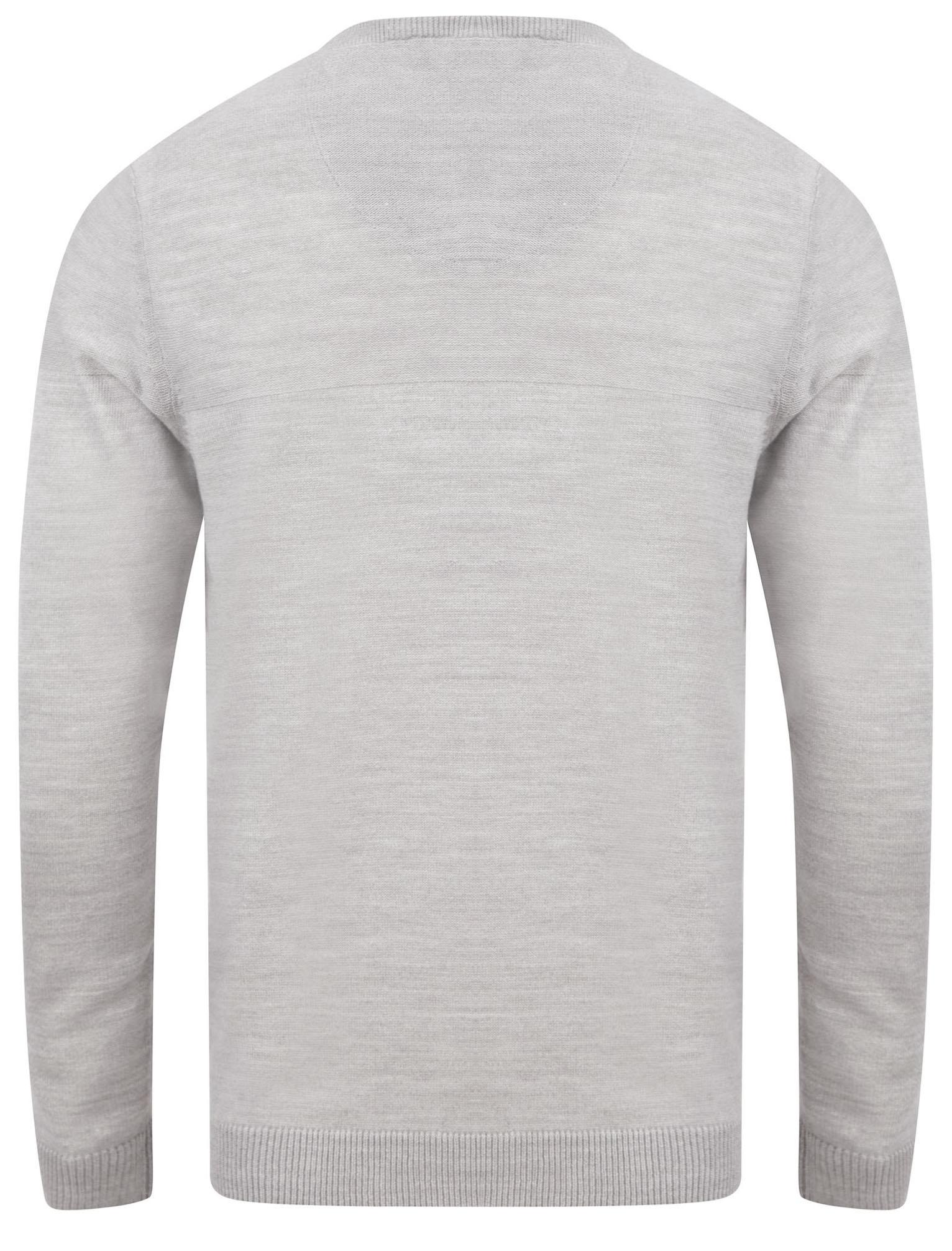 Kensington-Eastside-Men-039-s-Knitted-Crew-or-V-Neck-Jumper-Sweater-Top-Pullover thumbnail 49