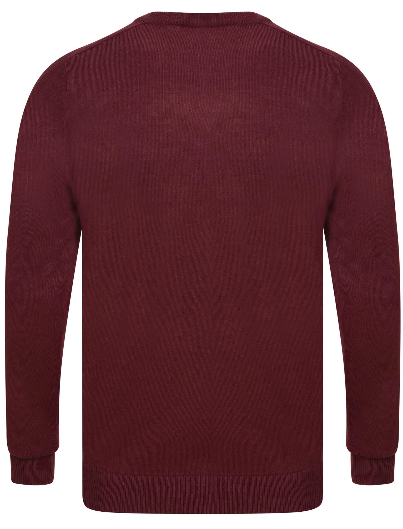 Kensington-Eastside-Men-039-s-Knitted-Crew-or-V-Neck-Jumper-Sweater-Top-Pullover thumbnail 86