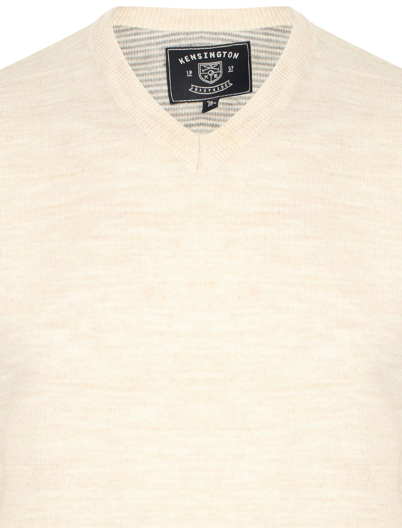 Kensington-Eastside-Men-039-s-Wool-Blend-Knitted-Crew-or-V-Neck-Jumper-Sweater-Top thumbnail 48