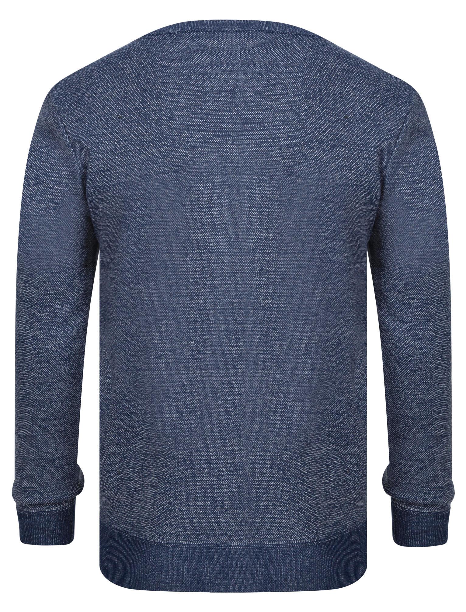 Kensington-Eastside-Men-039-s-Knitted-Crew-or-V-Neck-Jumper-Sweater-Top-Pullover thumbnail 59