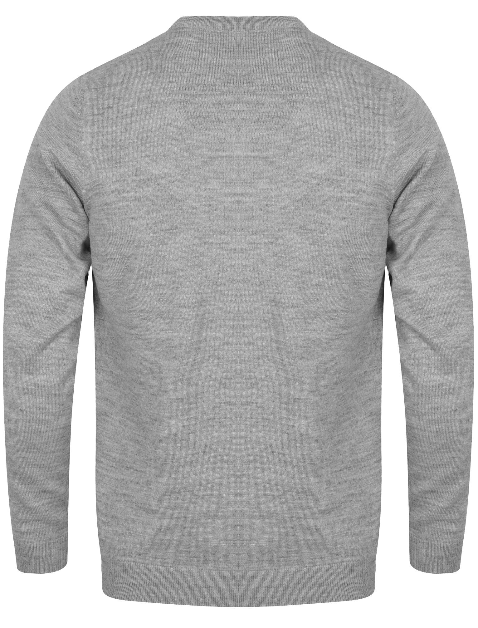 Kensington-Eastside-Men-039-s-Knitted-Crew-or-V-Neck-Jumper-Sweater-Top-Pullover thumbnail 11