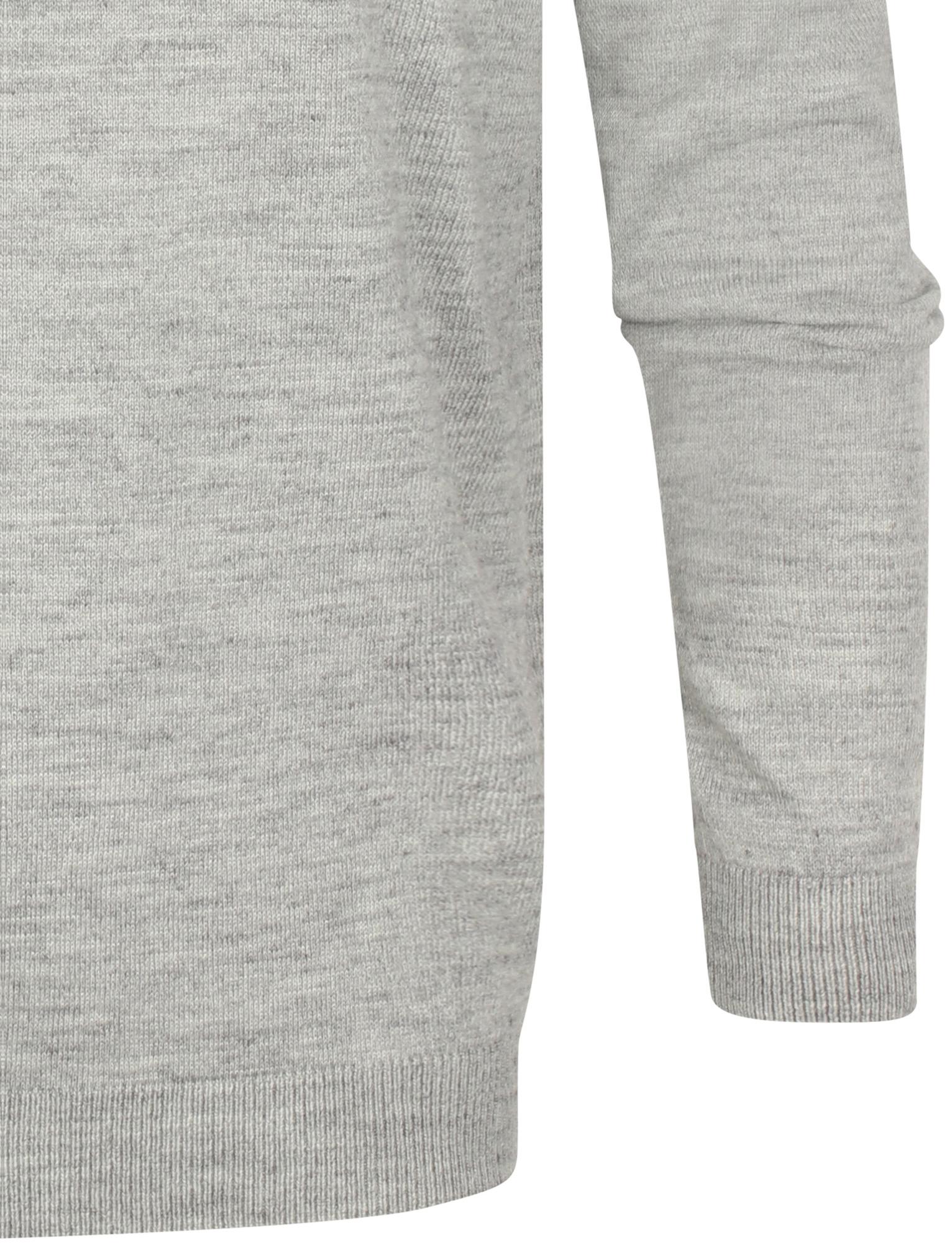 Kensington-Eastside-Men-039-s-Wool-Blend-Knitted-Crew-or-V-Neck-Jumper-Sweater-Top thumbnail 37