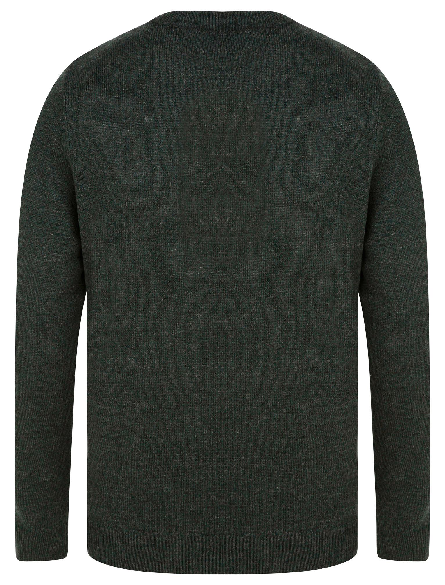 Kensington-Eastside-Men-039-s-Knitted-Crew-or-V-Neck-Jumper-Sweater-Top-Pullover thumbnail 92
